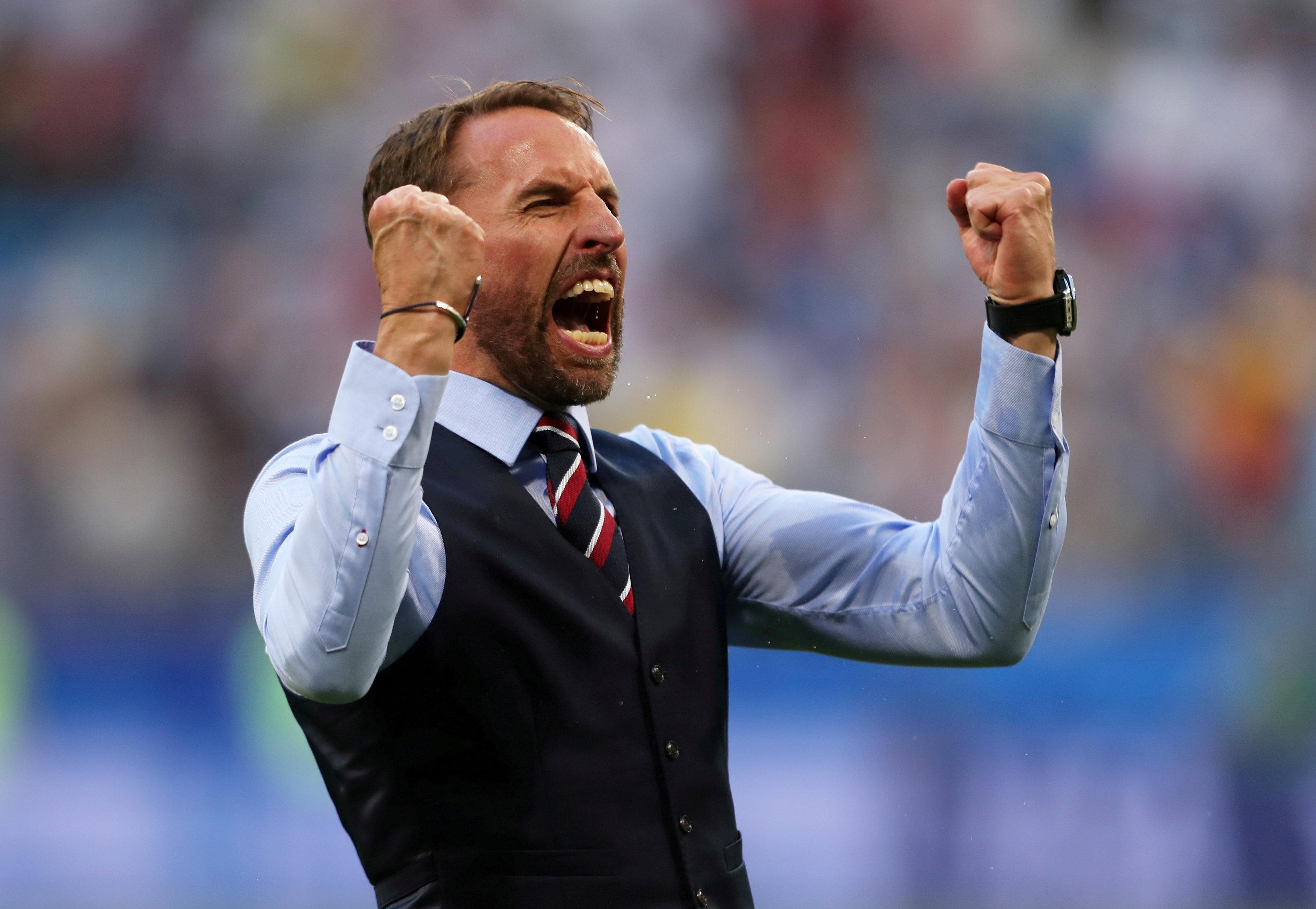 Southgate was praised throughout the tournament for his attitude and coaching methods