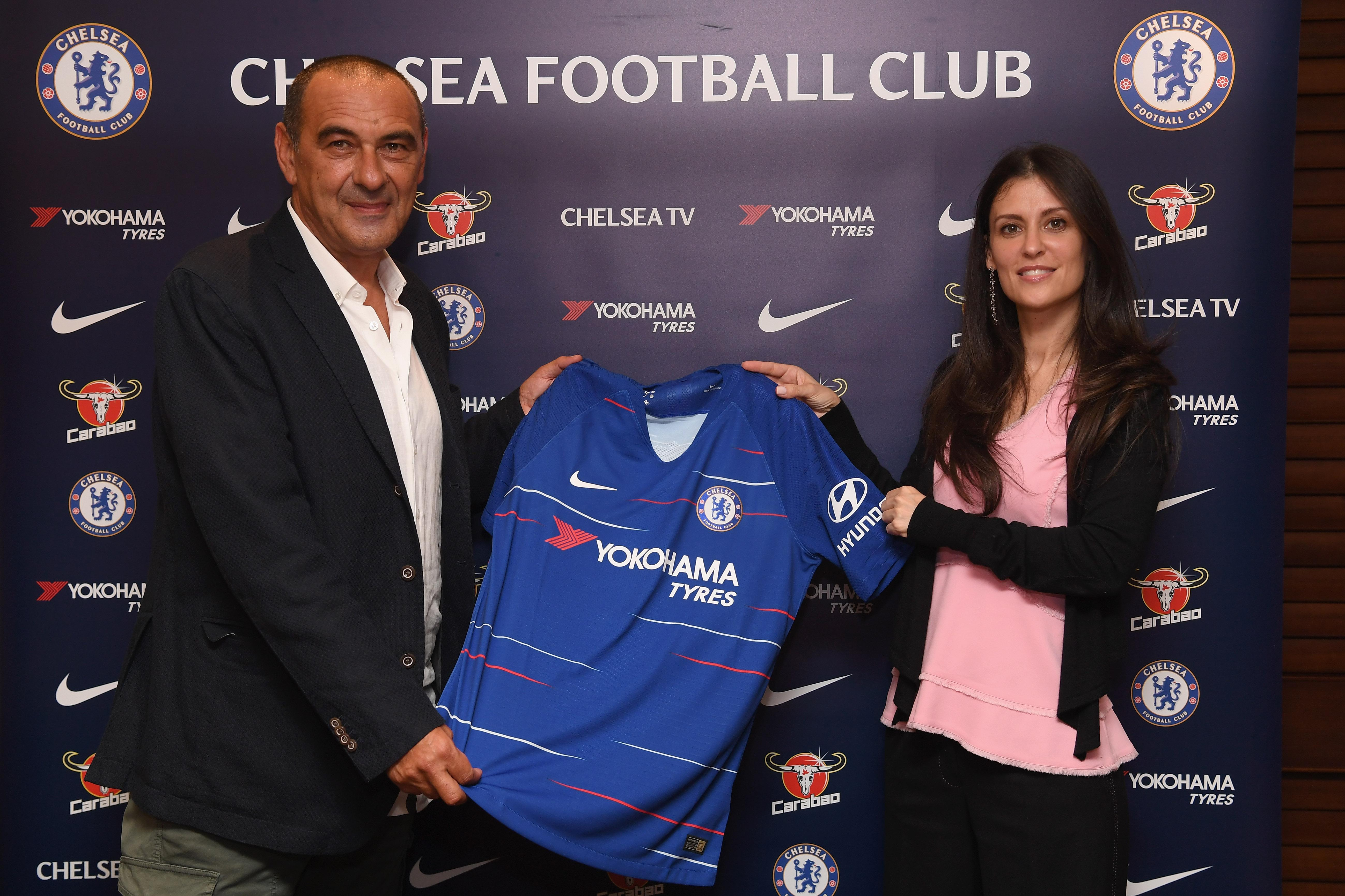 Maurizio Sarri was announced as Chelsea manager on July 14