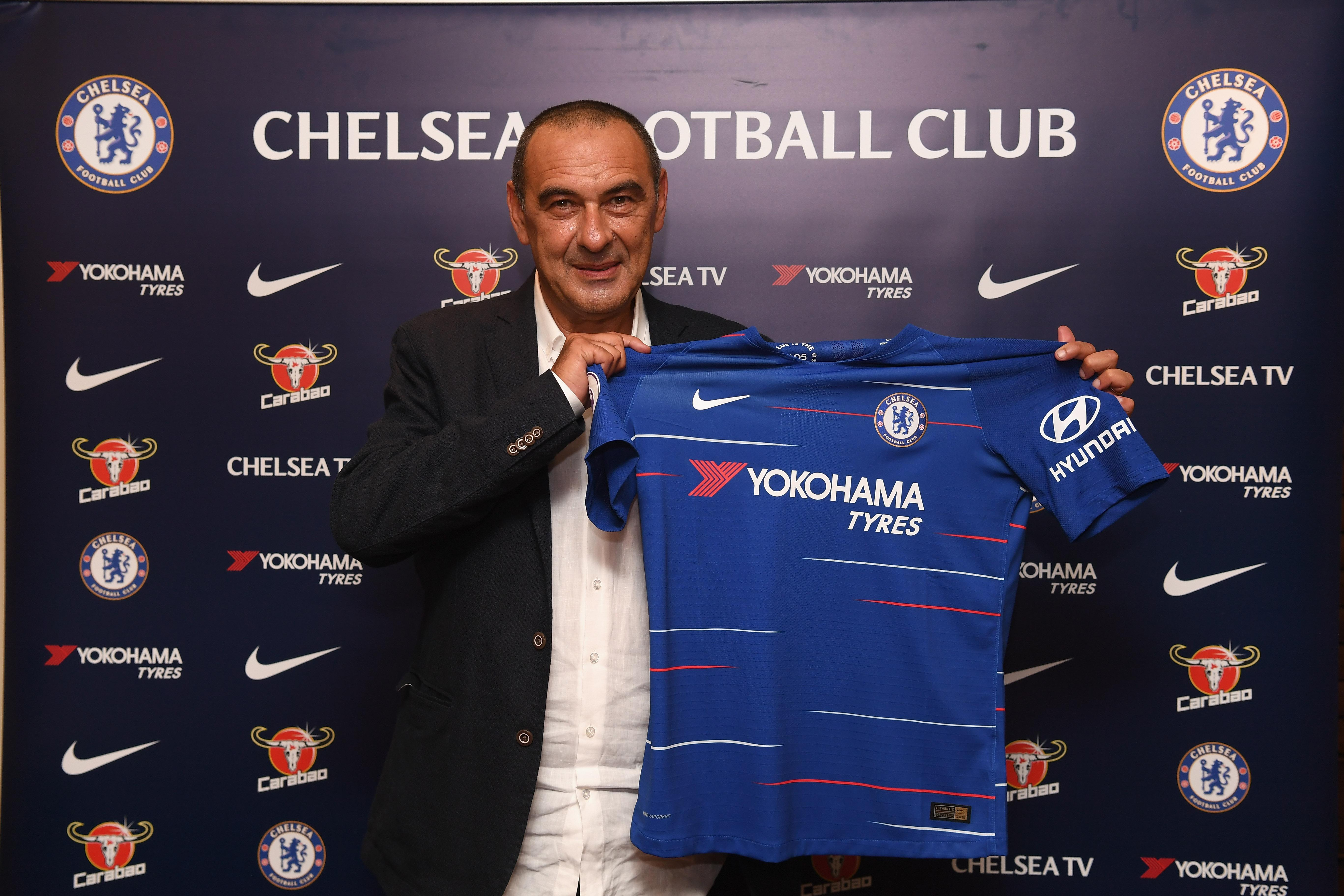 Chelsea will be hoping Sarri can lead them to glory next season