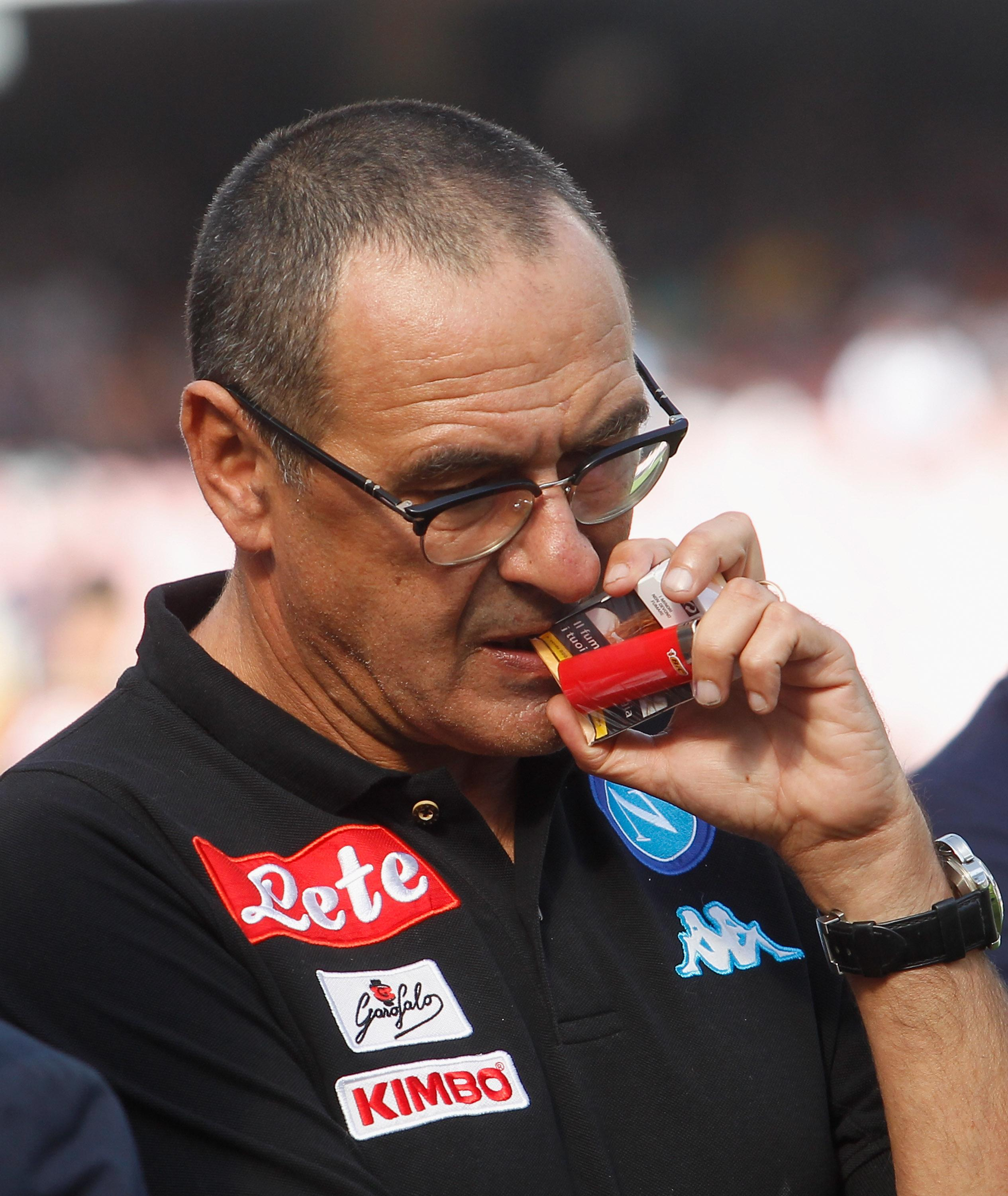 Sarri is known as a perfectionist