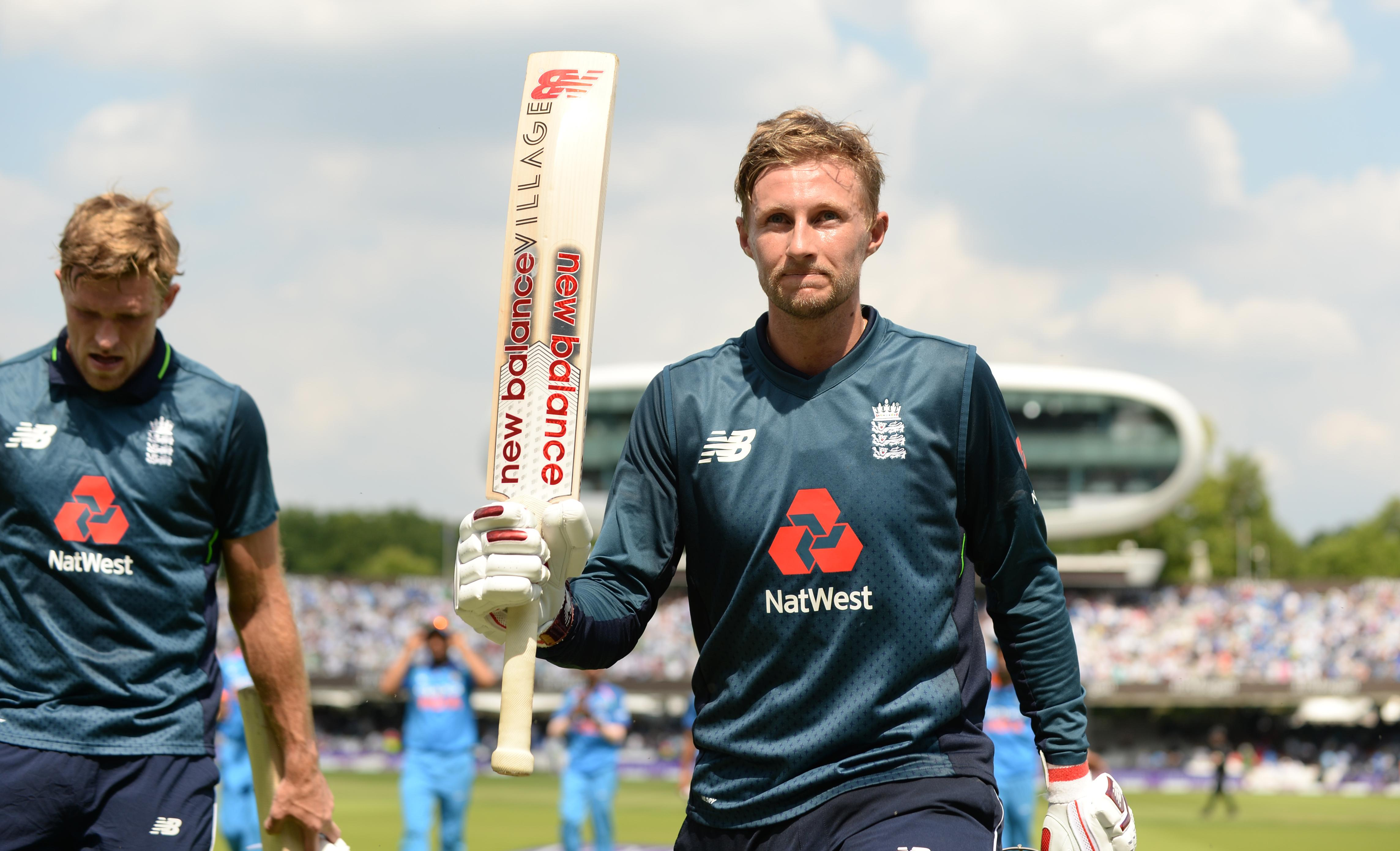 Root hit 113 from 116 balls to set England on their way to victory