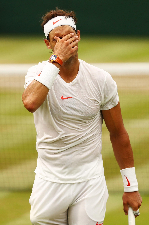 It was Wimbledon heartbreak for Rafa Nadal
