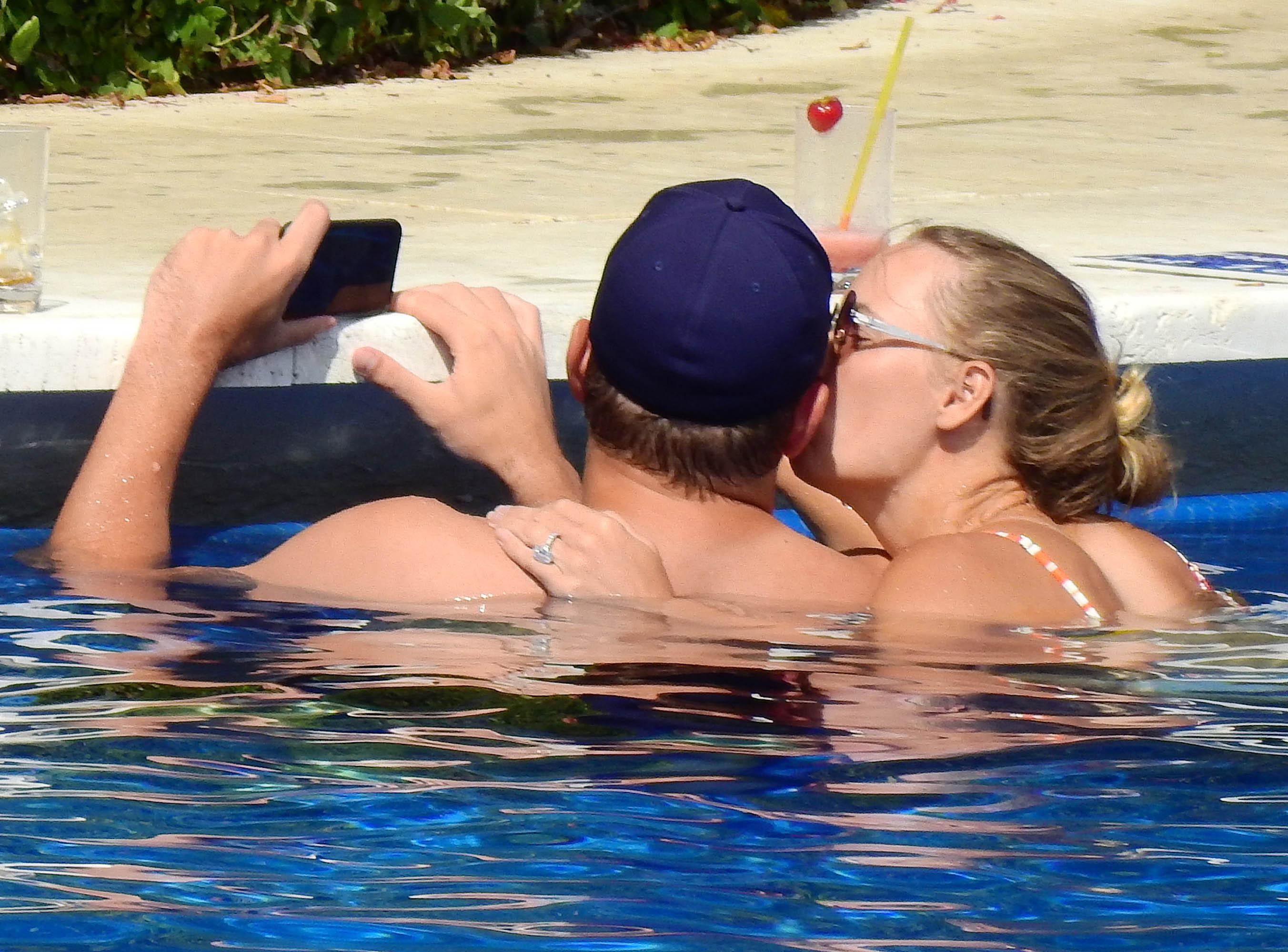 Wozniacki announced she was dating ex-NBA star Lee on Valentine's Day last year