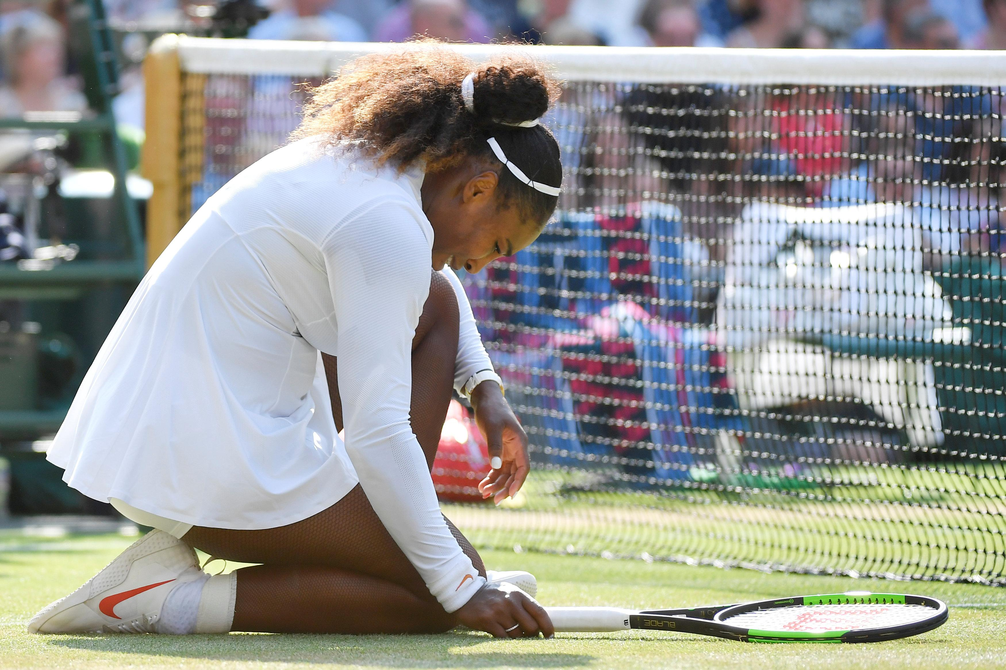 Serena Williams battled so hard all fortnight but fell short on final day