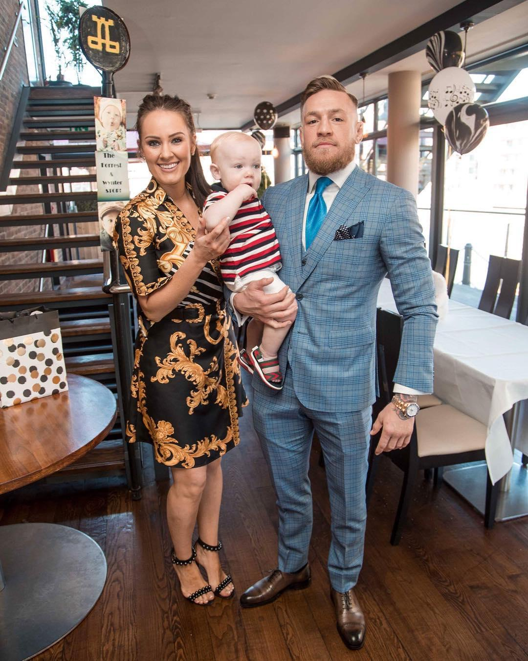 There will soon be a new addition to family McGregor as Conor's partner Dee Devlin is expecting their second child