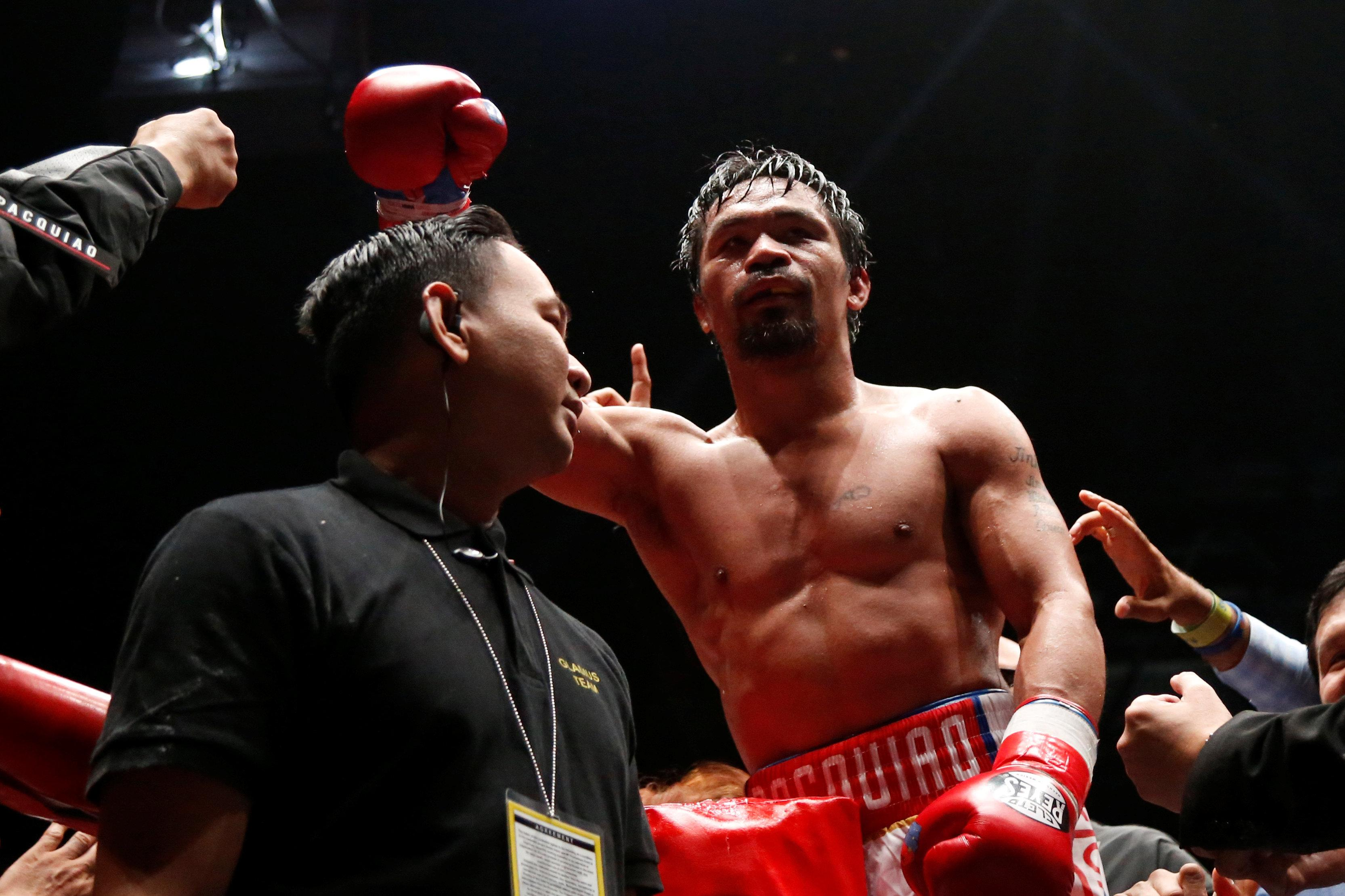 It's the 11th major world title the Filipino slugger has picked up in his glorious 23 year professional boxing career
