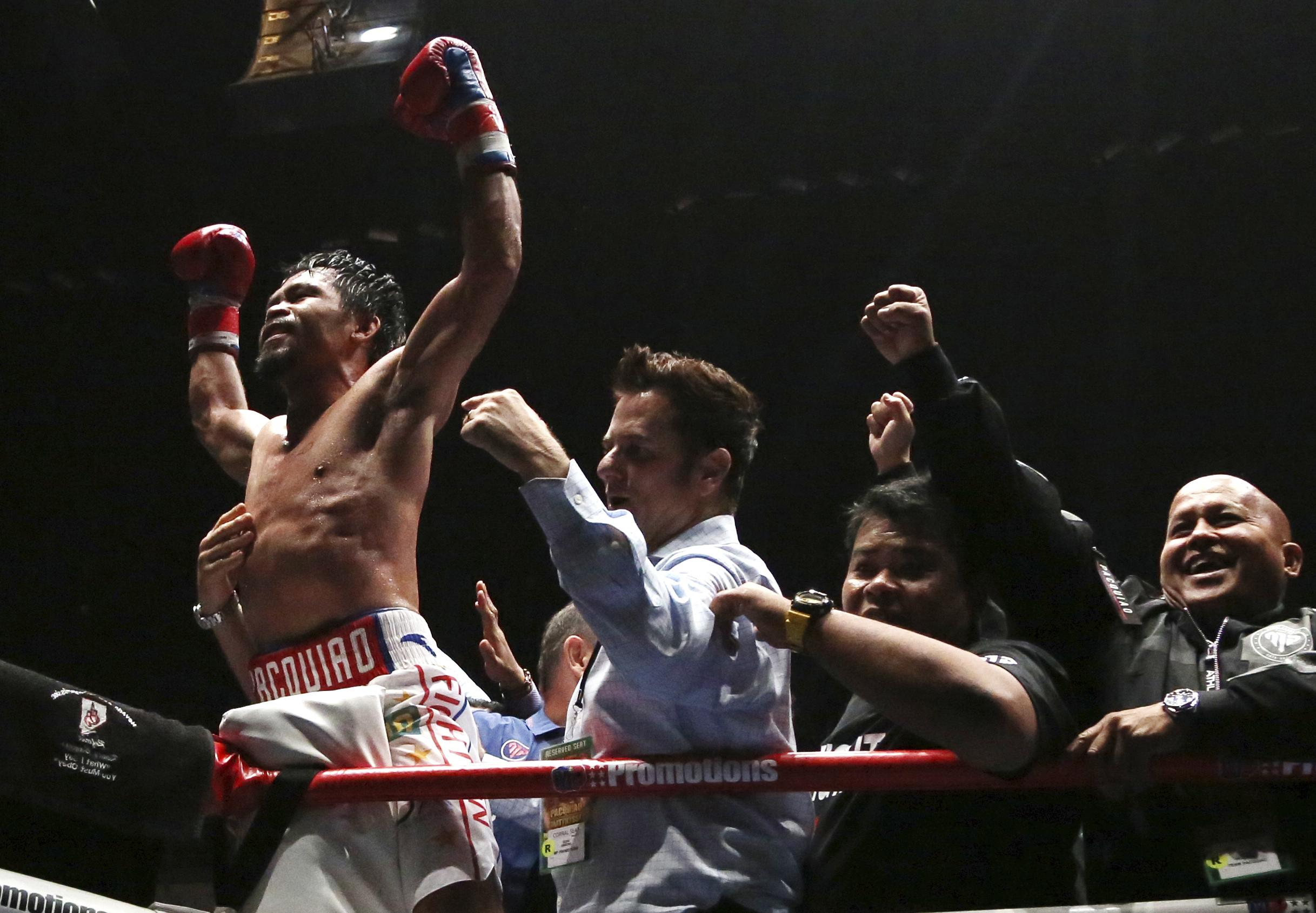 Manny Pacquiao rolled back the years to become an 11-time world champion this weekend