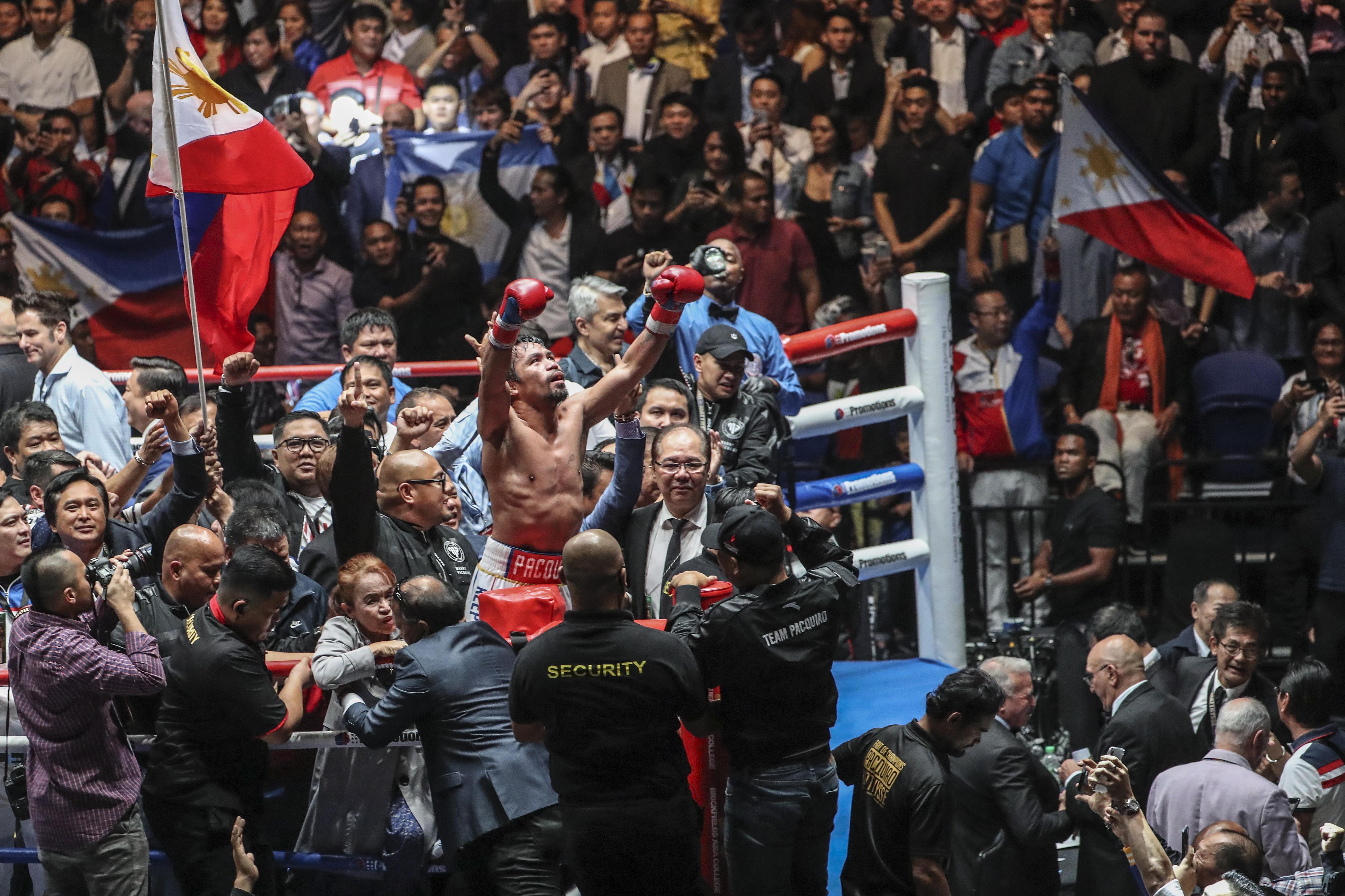 Manny Pacquiao well and truly rolled back the years as he beat Lucas Matthysse last weekend