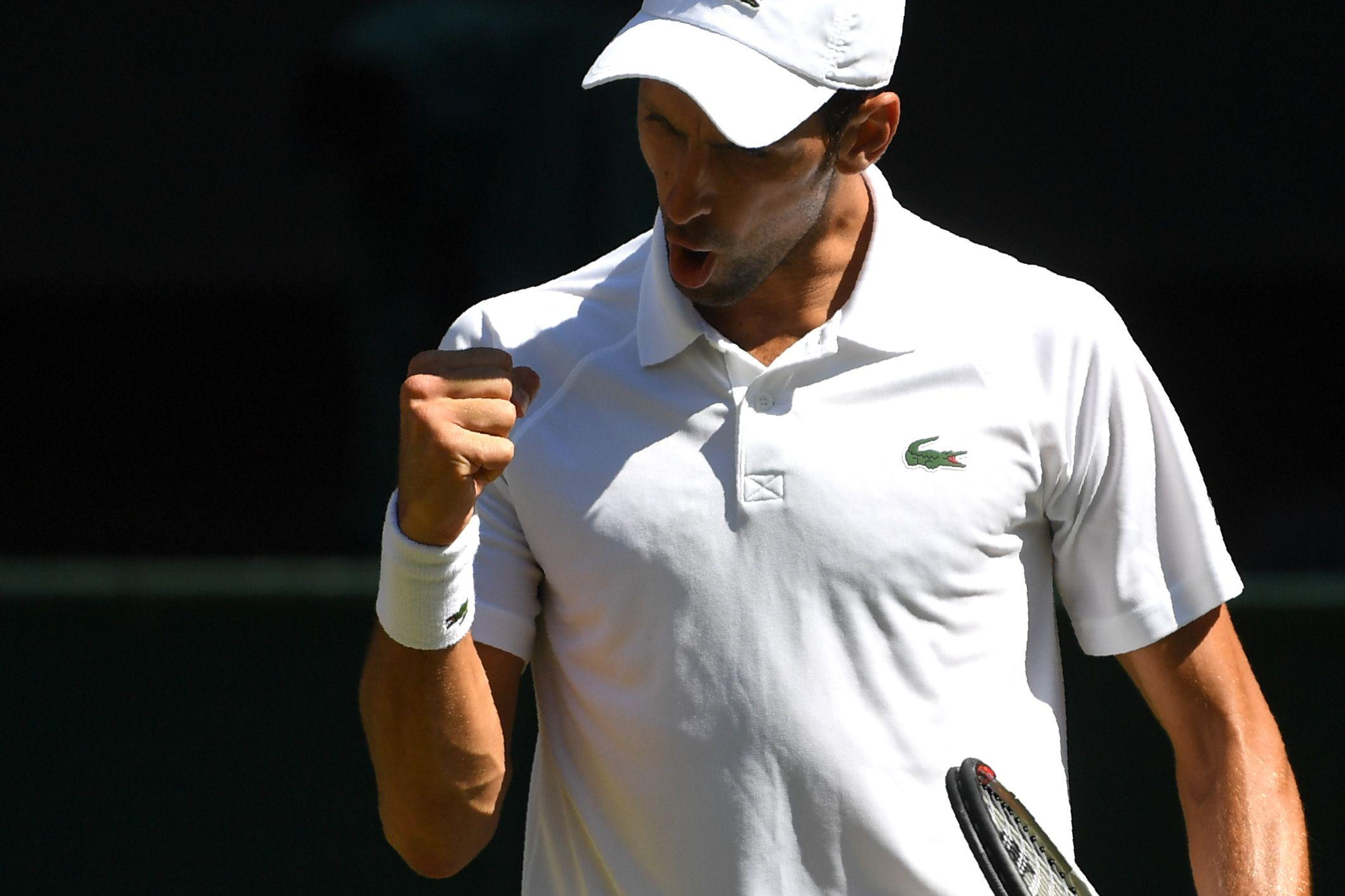 Serbian superstar Djokovic defeated Kevin Anderson