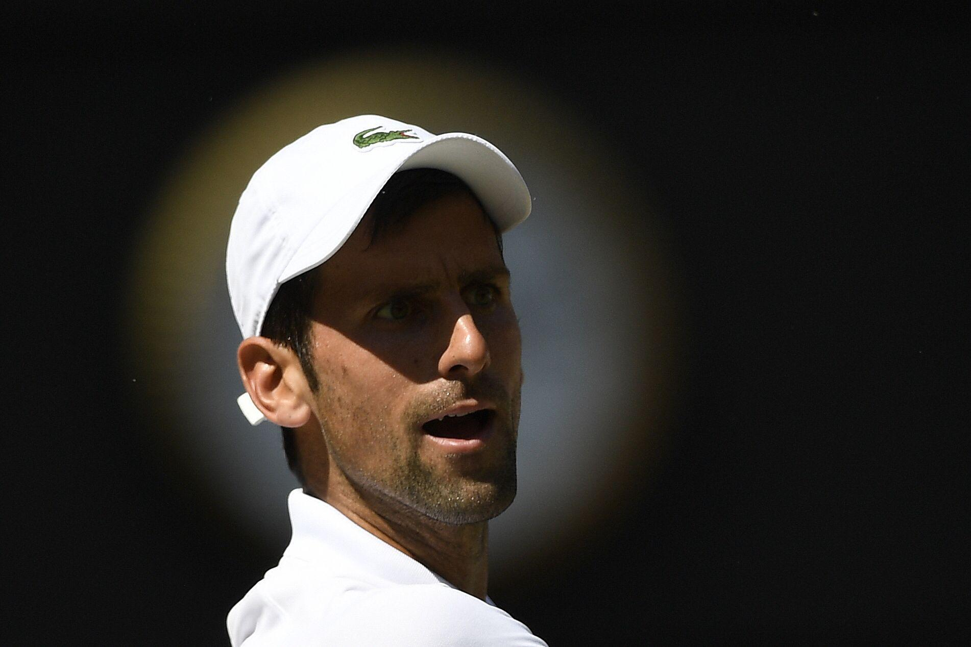 Djokovic overwhelmed poor Kevin Anderson in the first two sets