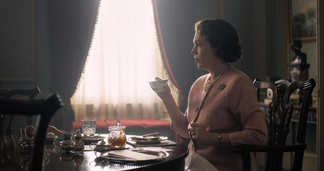 Olivia Colman takes on the lead role of Queen Elizabeth
