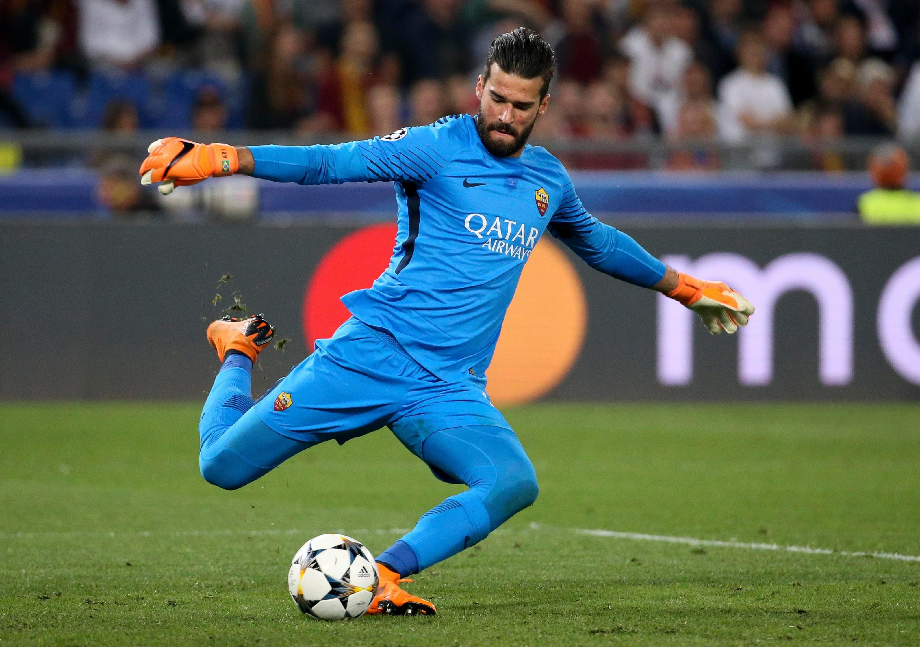 Alisson Becker has emerged as one of the top stoppers in Italy and was the first-choice Brazil stopper at the World Cup as they made the quarter-finals