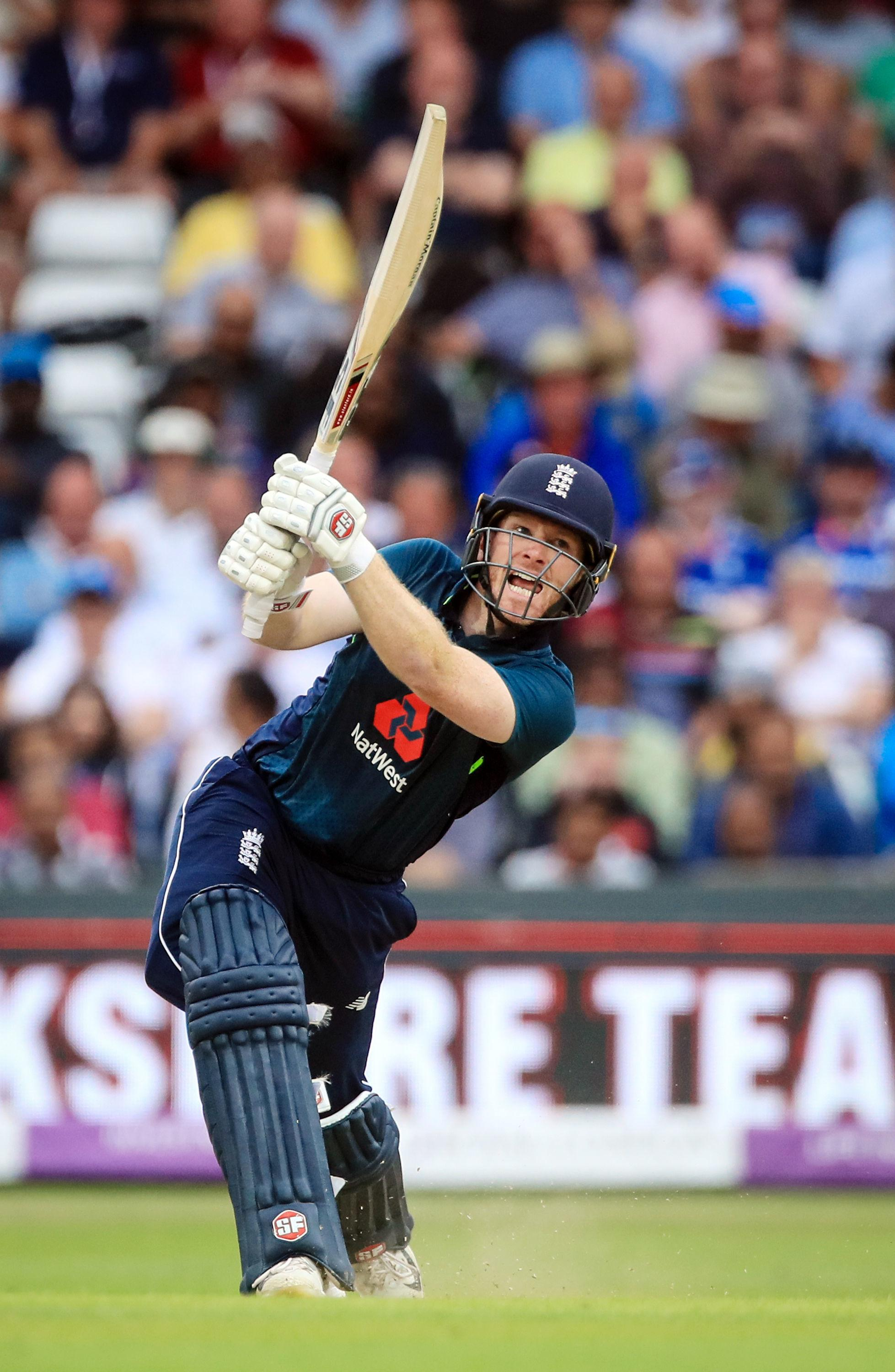 Morgan played a captain's knock of 88 not out to help England get over the line