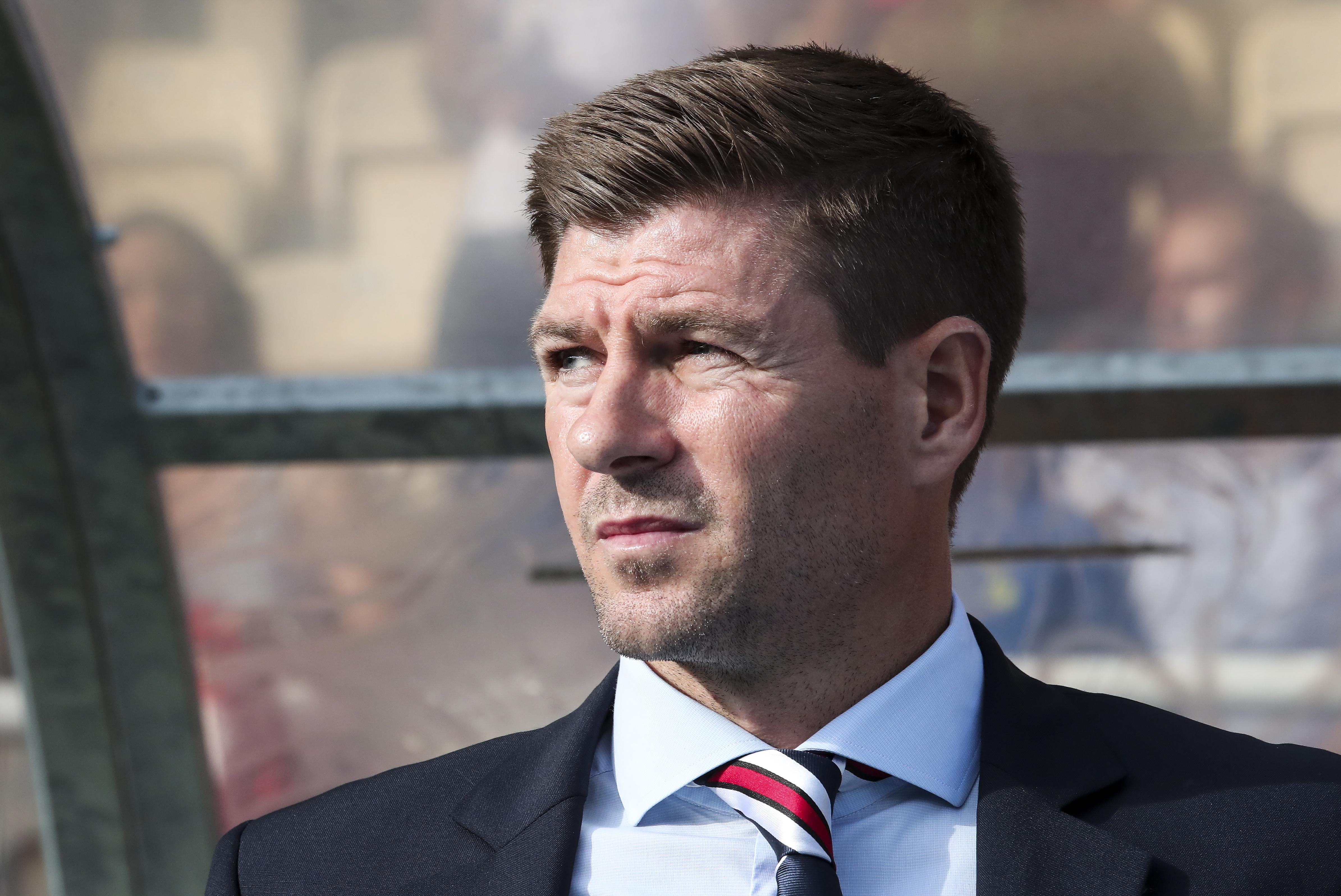 Steven Gerrard's men beat Shkupi in the first qualifying round