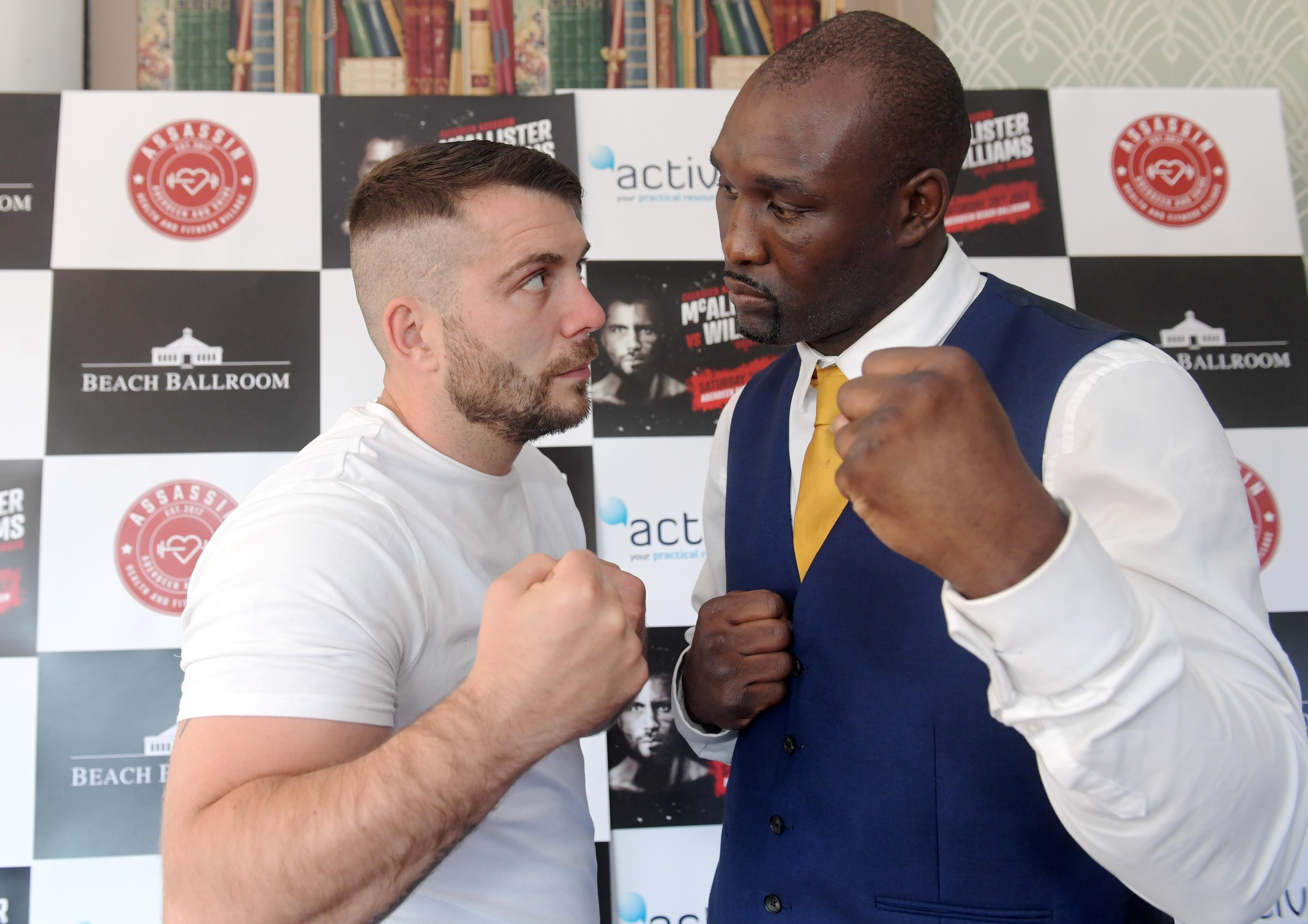 Danny Williams is back in action on July 28 - with the huge heavyweight fighting a welterweight