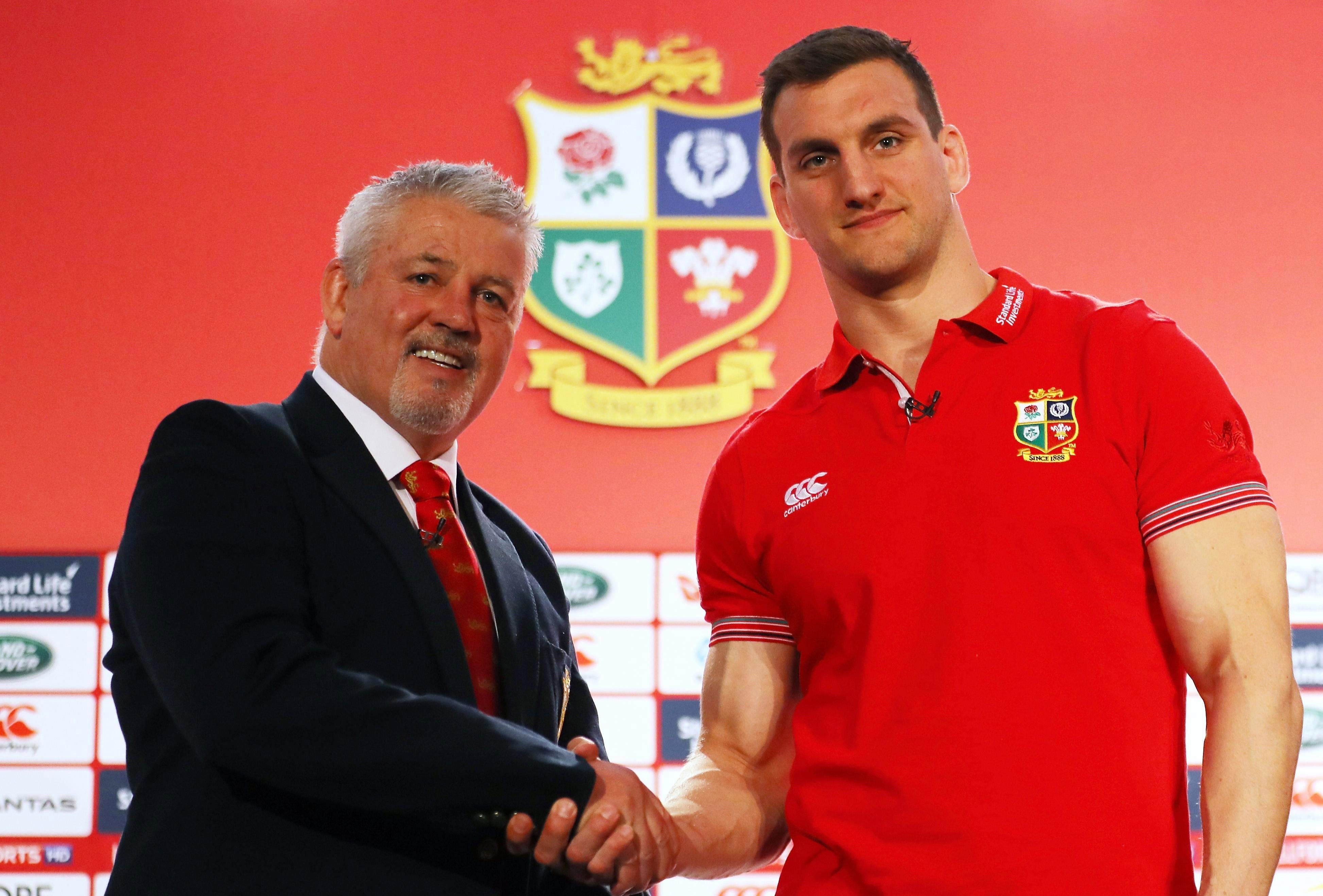 Wales and Lions coach Warren Gatland has admitted his disappointment at Warburton's retirement