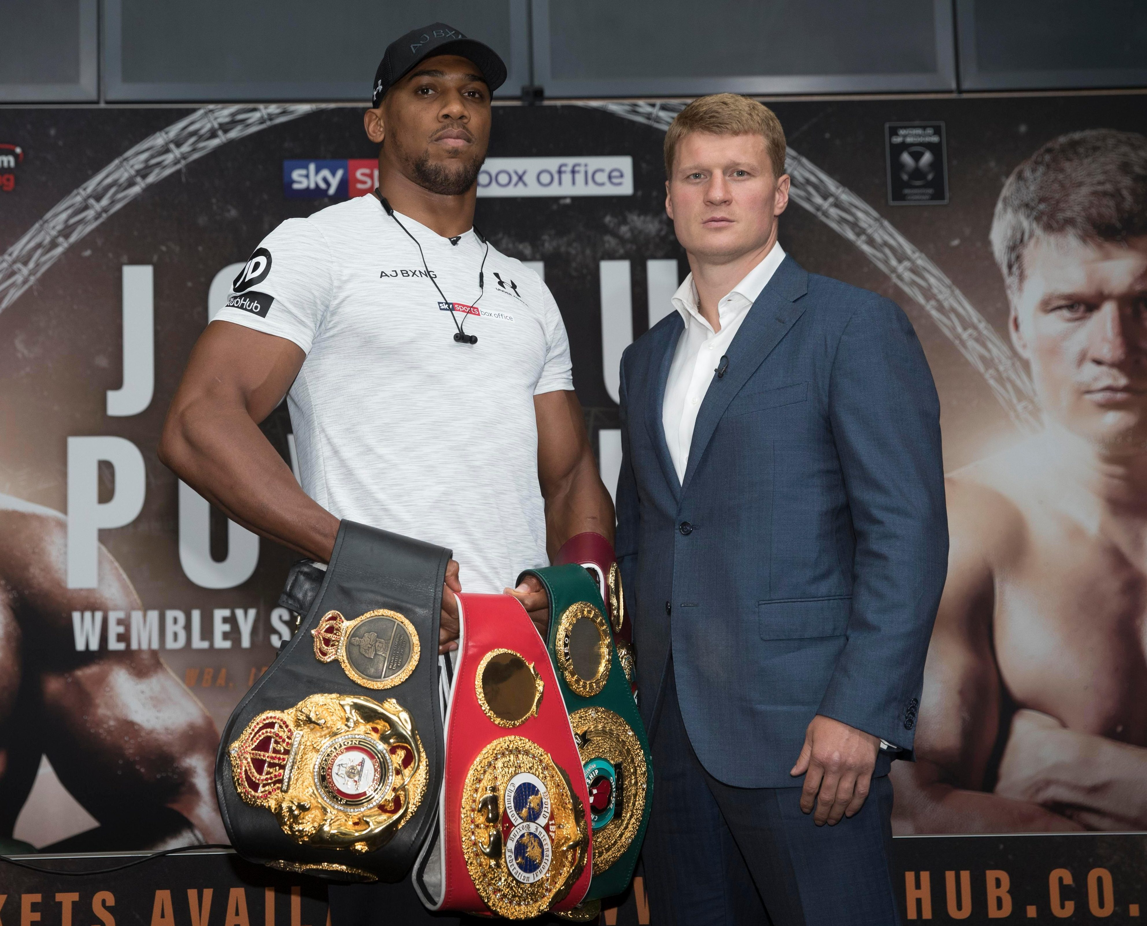 AJ's next opponent Alexander Povetkin has been convicted of doping twice