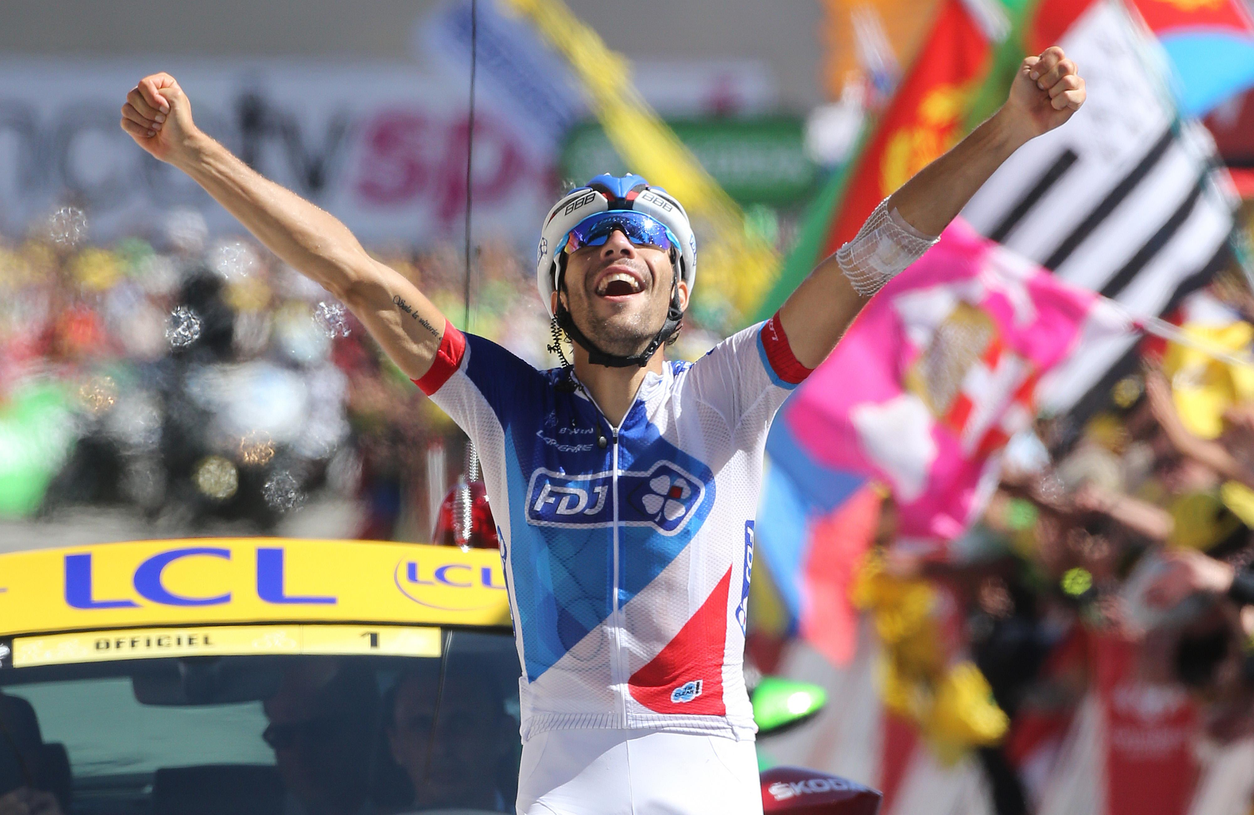 Thibaut Pinot's 2015 victory made it three in a row for French riders