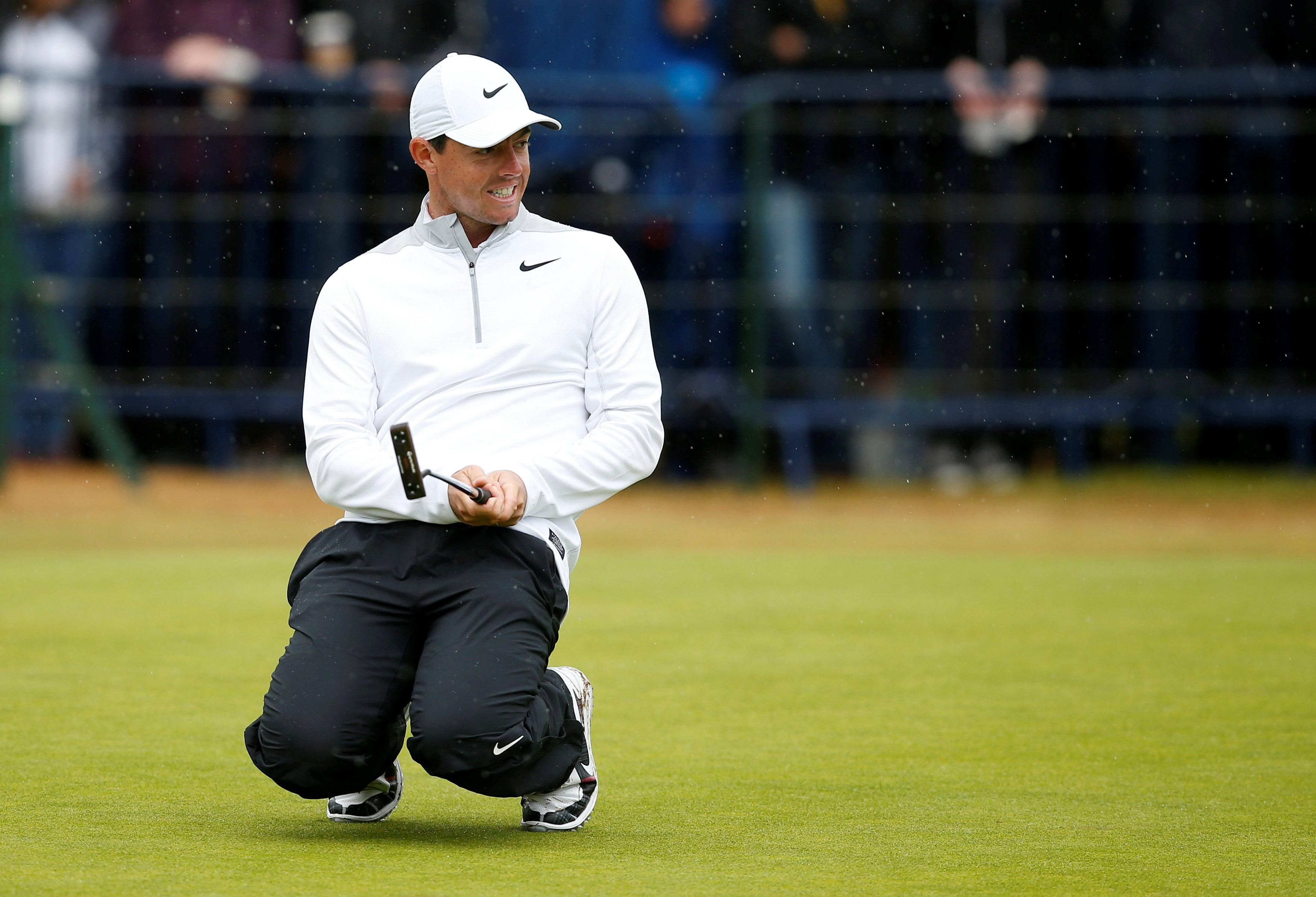 Northern Ireland superstar Rory McIlroy is the second-best placed Brit, with England ace Tommy Fleetwood above him on minus five