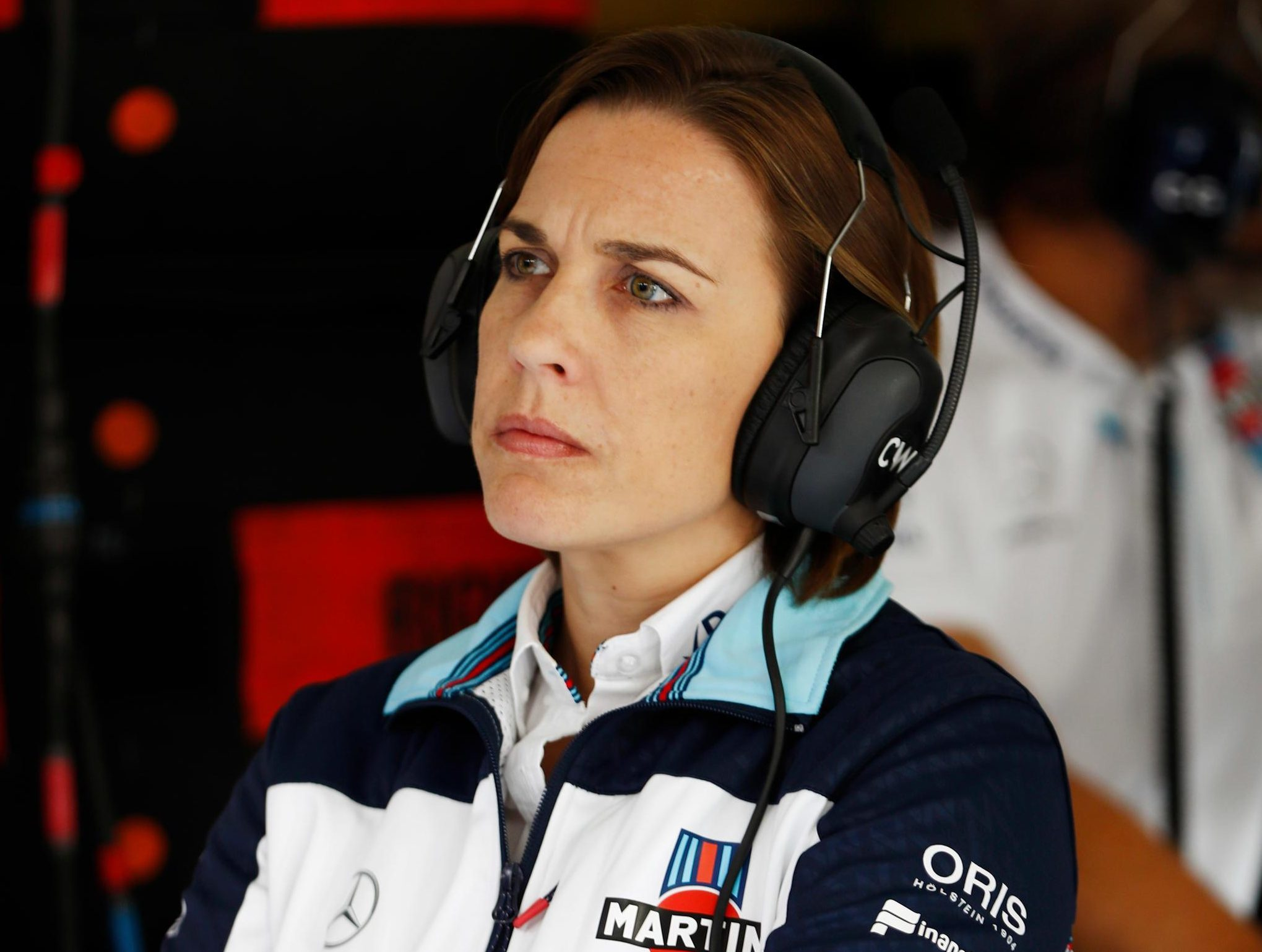 Claire Williams is running a team with a small budget