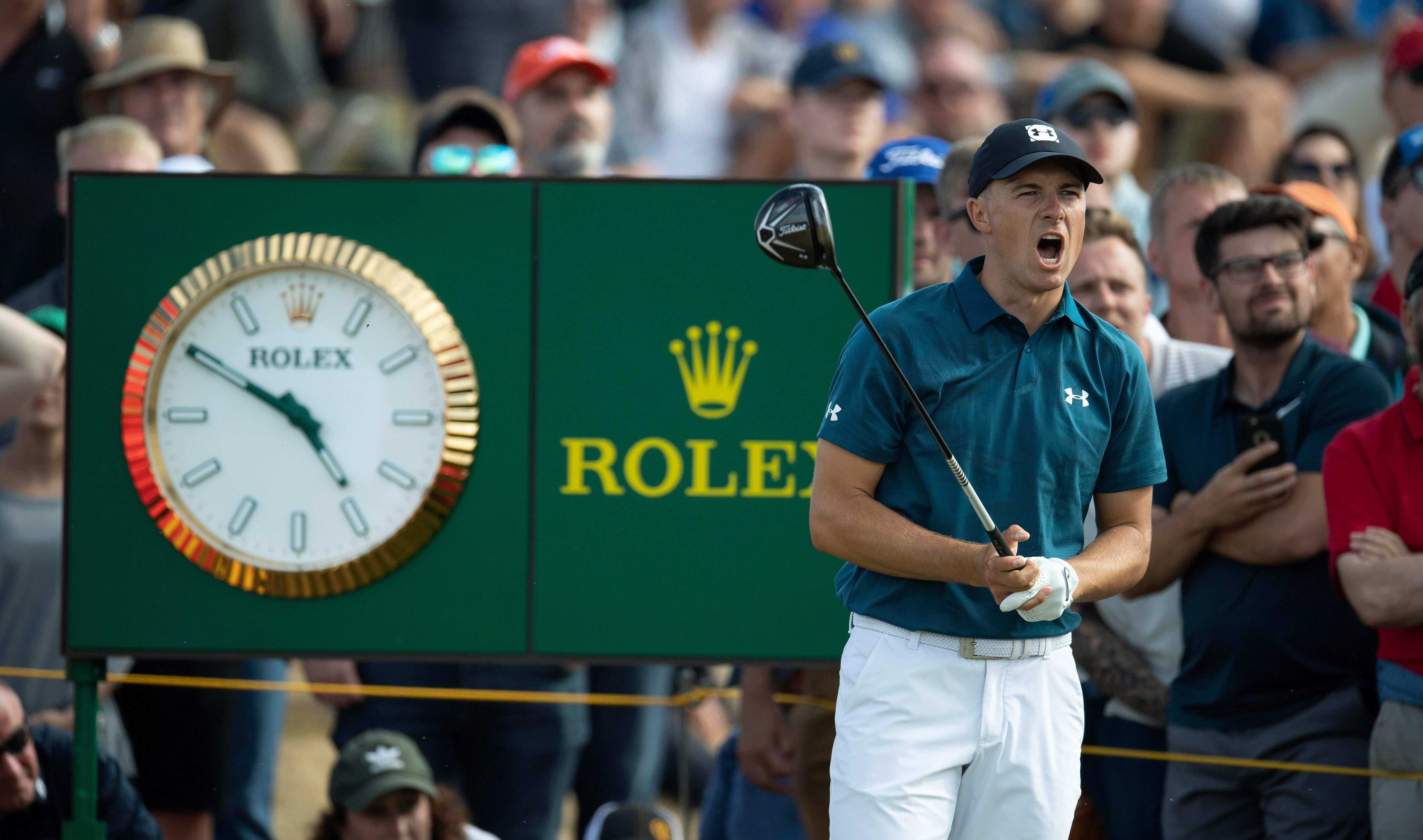 Jordan Spieth could become the first player to defend the Open title after Padraig Harrington in 2008