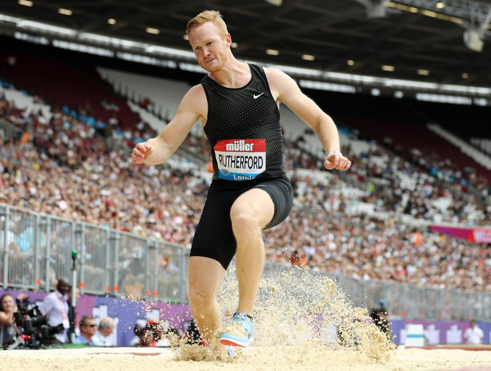 After struggling to jump at the Anniversary Games, Rutherford announced that he would not be defending his European title in Berlin later this month