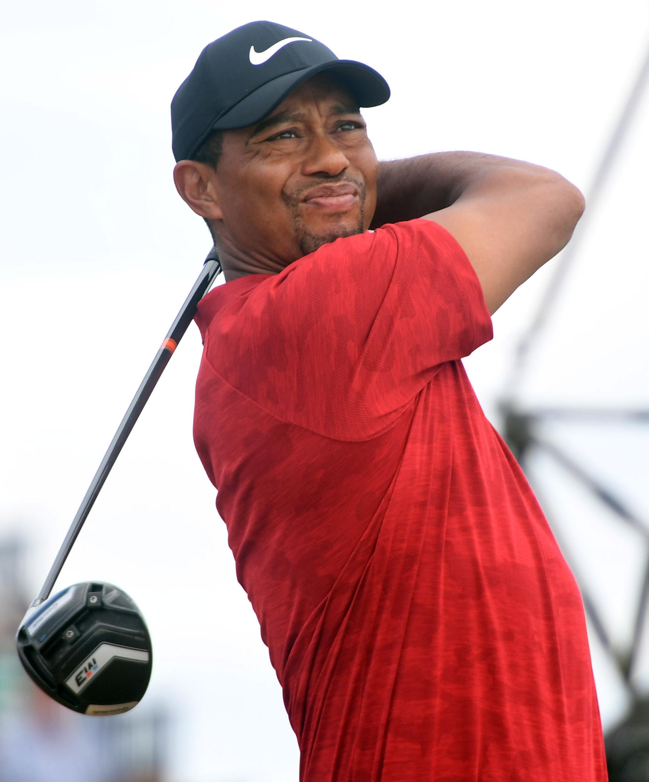 Tiger Woods finished three shots behind eventual champion Francesco Molinari