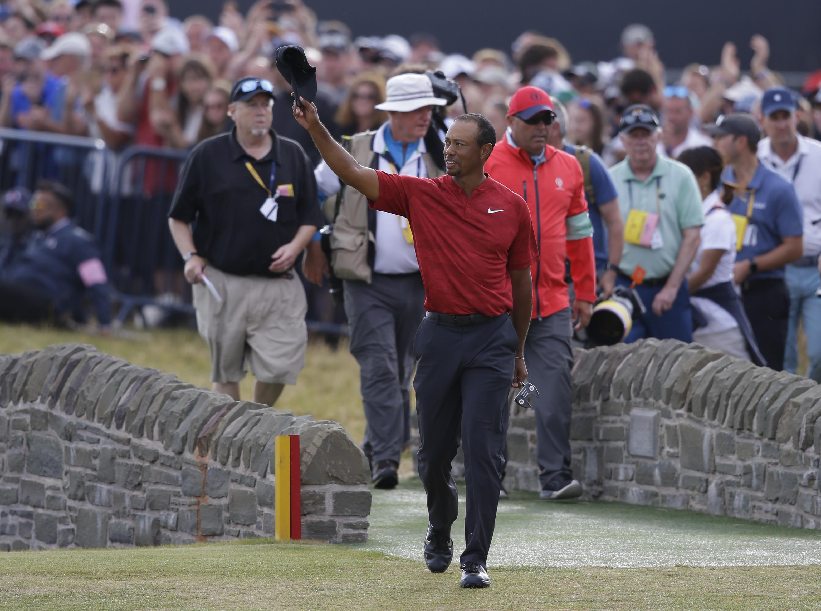 Woods failed in his quest to win his first major since beating Rocco Mediate in a playoff to win the US Open in 2008