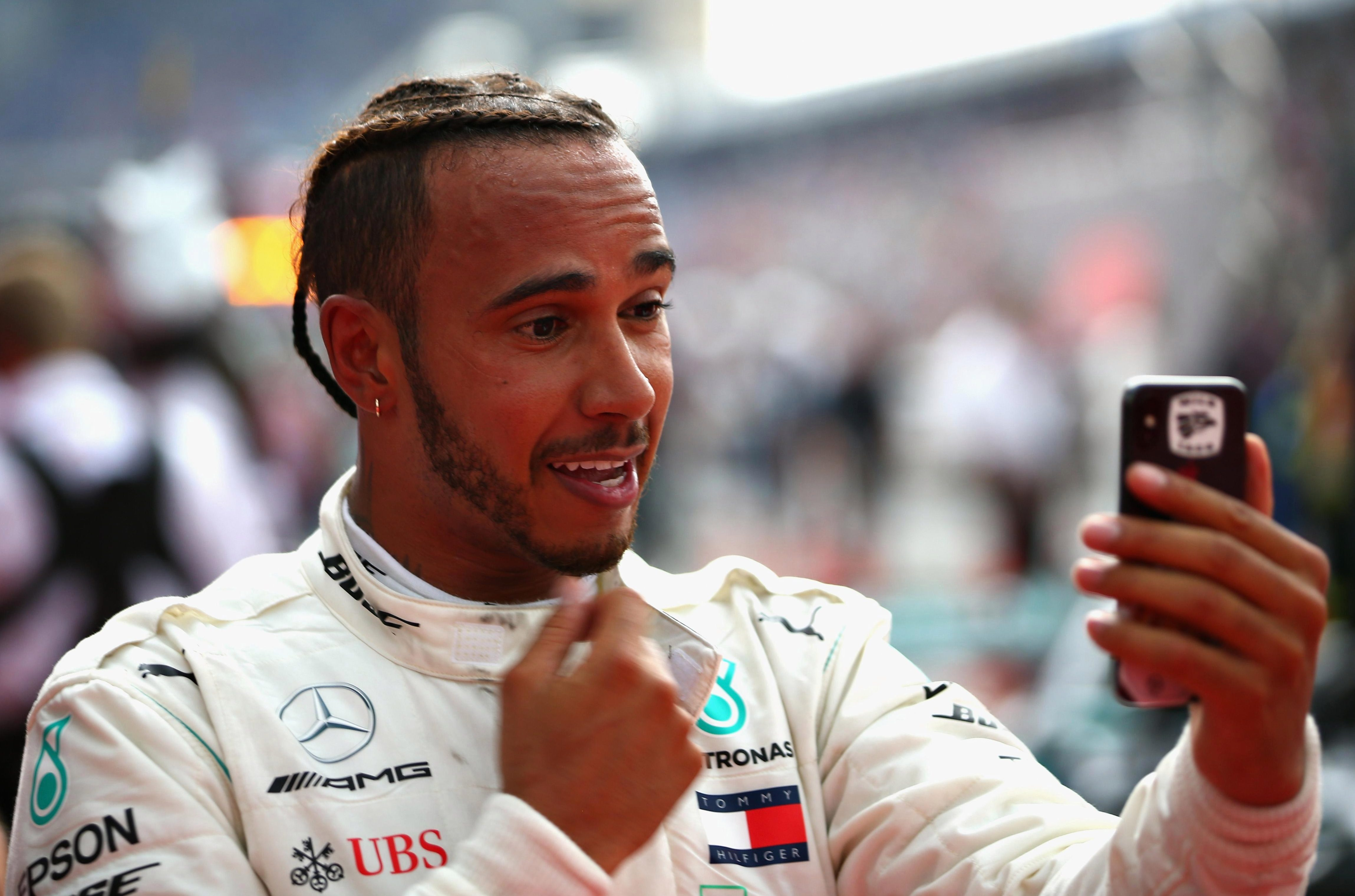 Lewis Hamilton has been given the green light to keep on with his social media rants