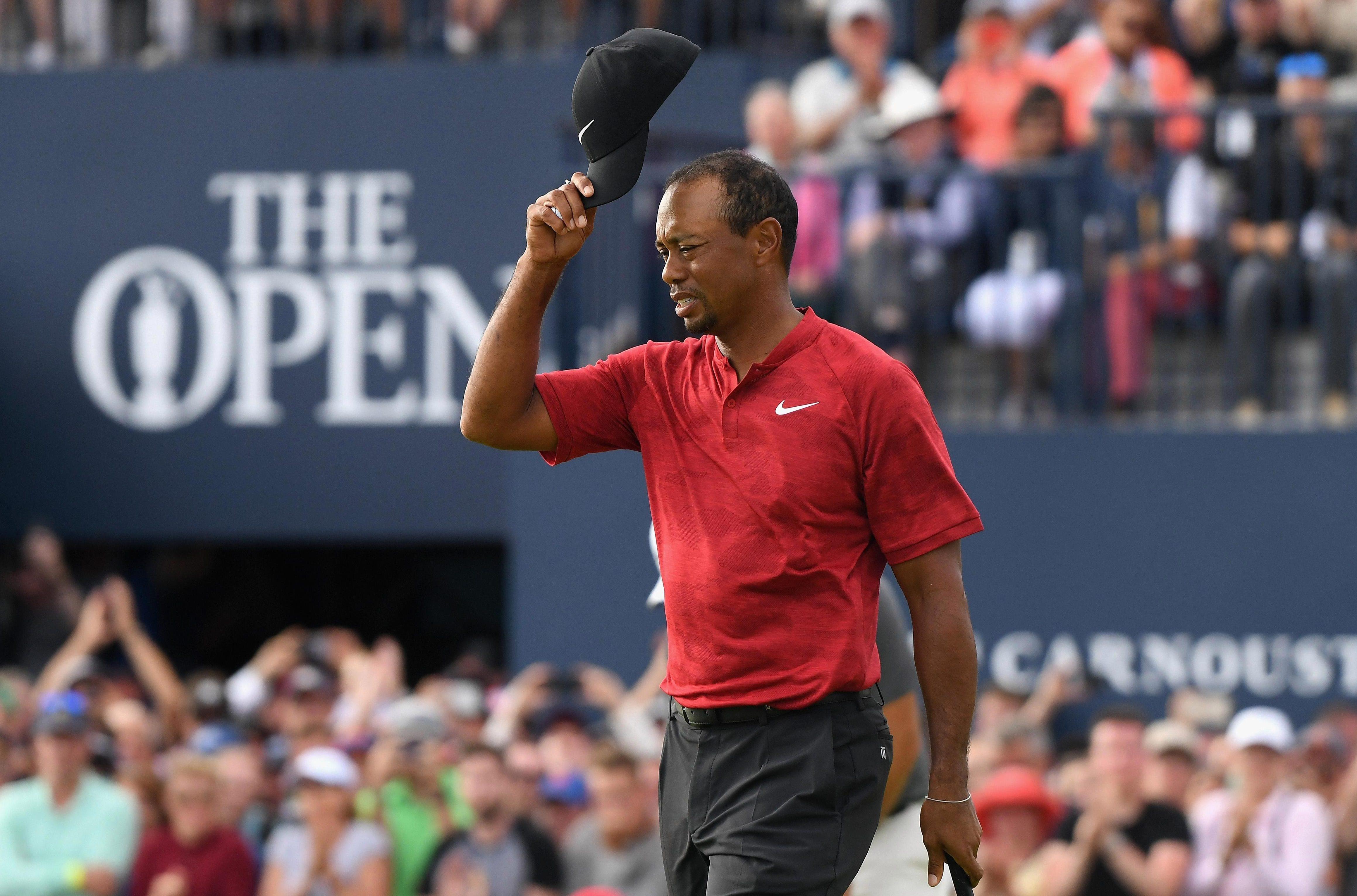 Woods was again denied a first Major triumph since 2008
