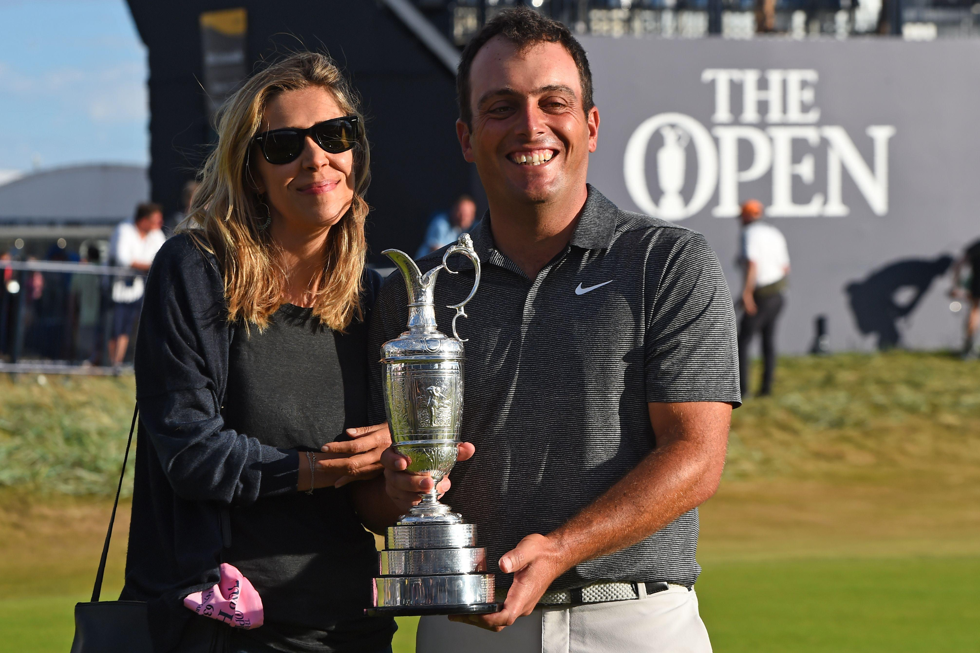 Molinari's win was the first ever in a Major by an Italian
