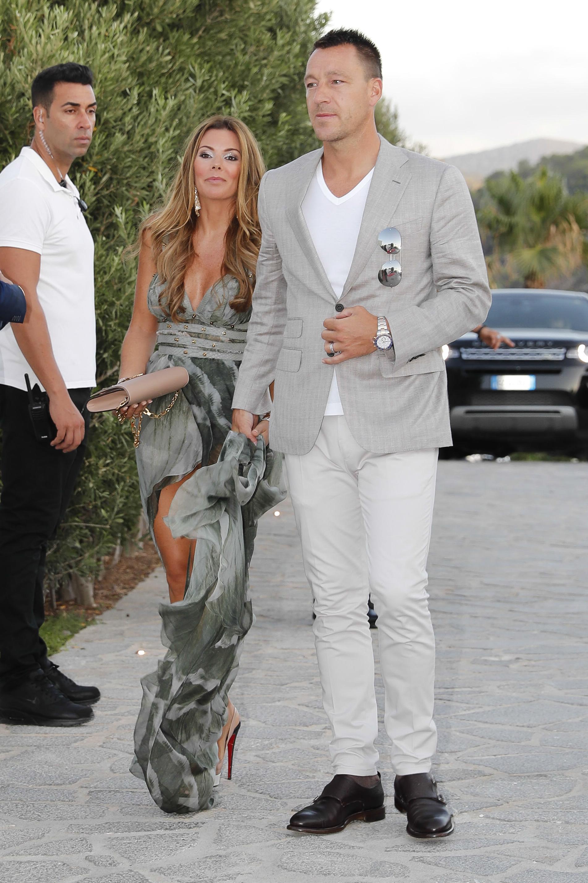 Chelsea legend John Terry and wife Toni make it to Ibiza for Cesc Fabregas' celebrations