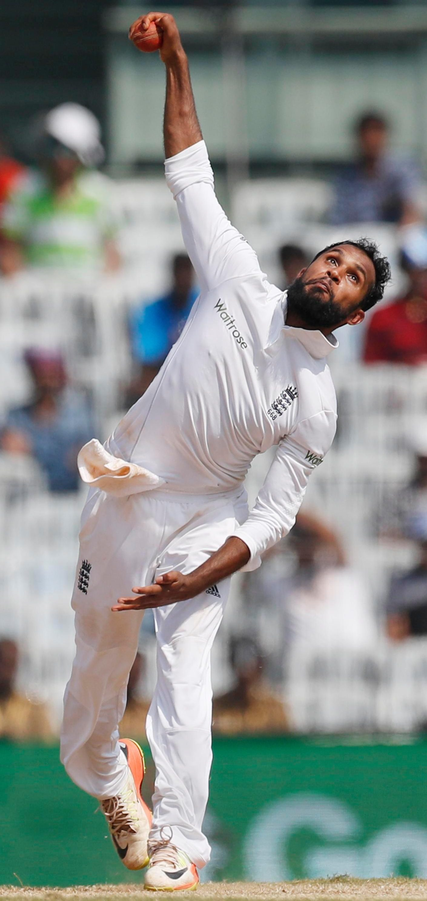Yorkshire s;inner Adil Rashid quit four-ball cricket in February but will step up to five-day action for England against India at Edgbaston