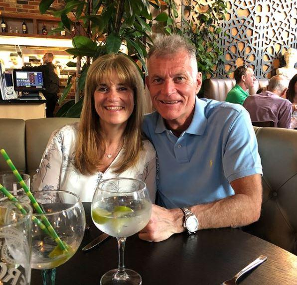 Page's mum Jackie and dad Martin, who travelled the country with him while at West Ham