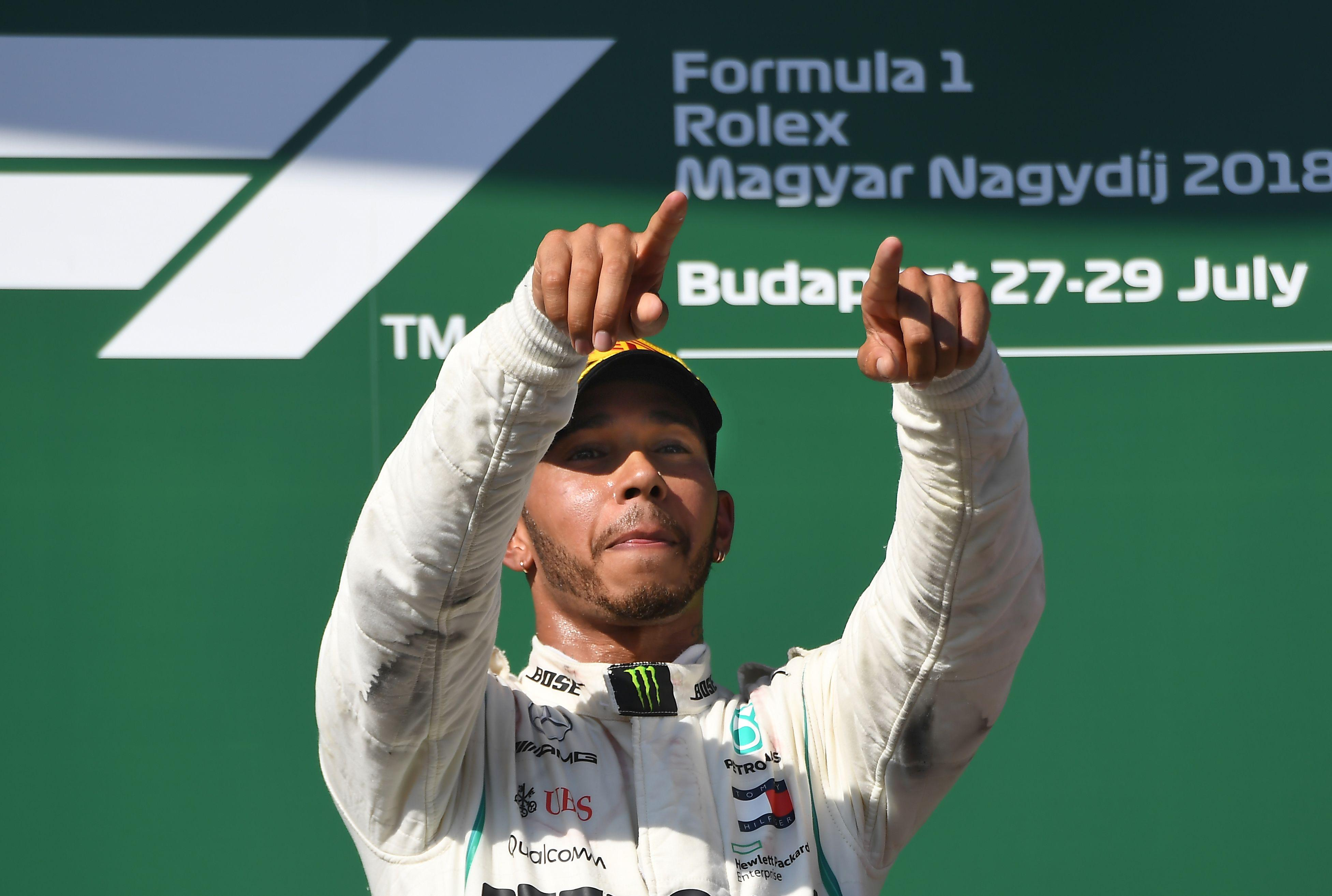 Hamilton now has a 24 point lead over Ferrari's Sebastian Vettel in the title race