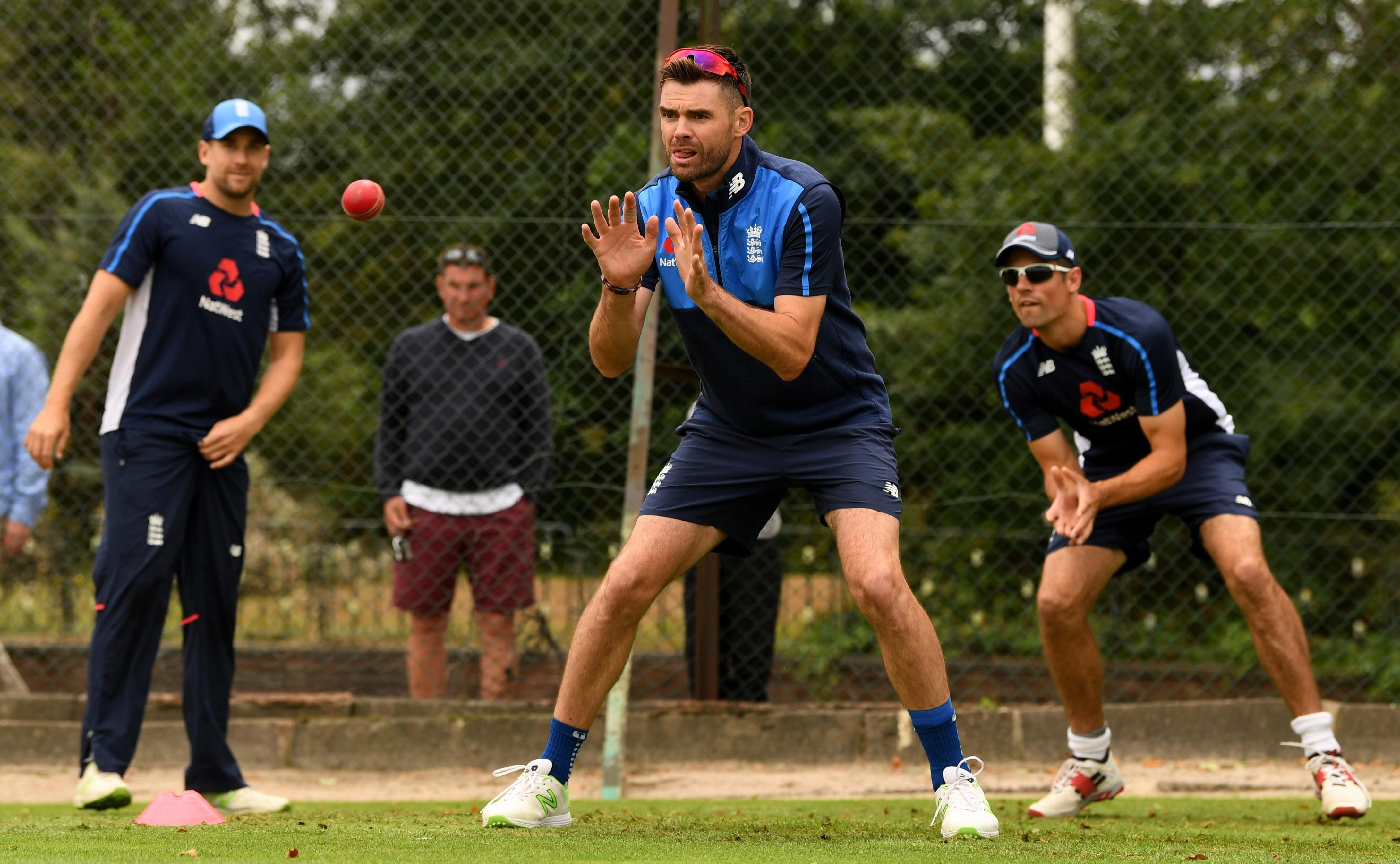 James Anderson will line up for England in their 1,000th Test match
