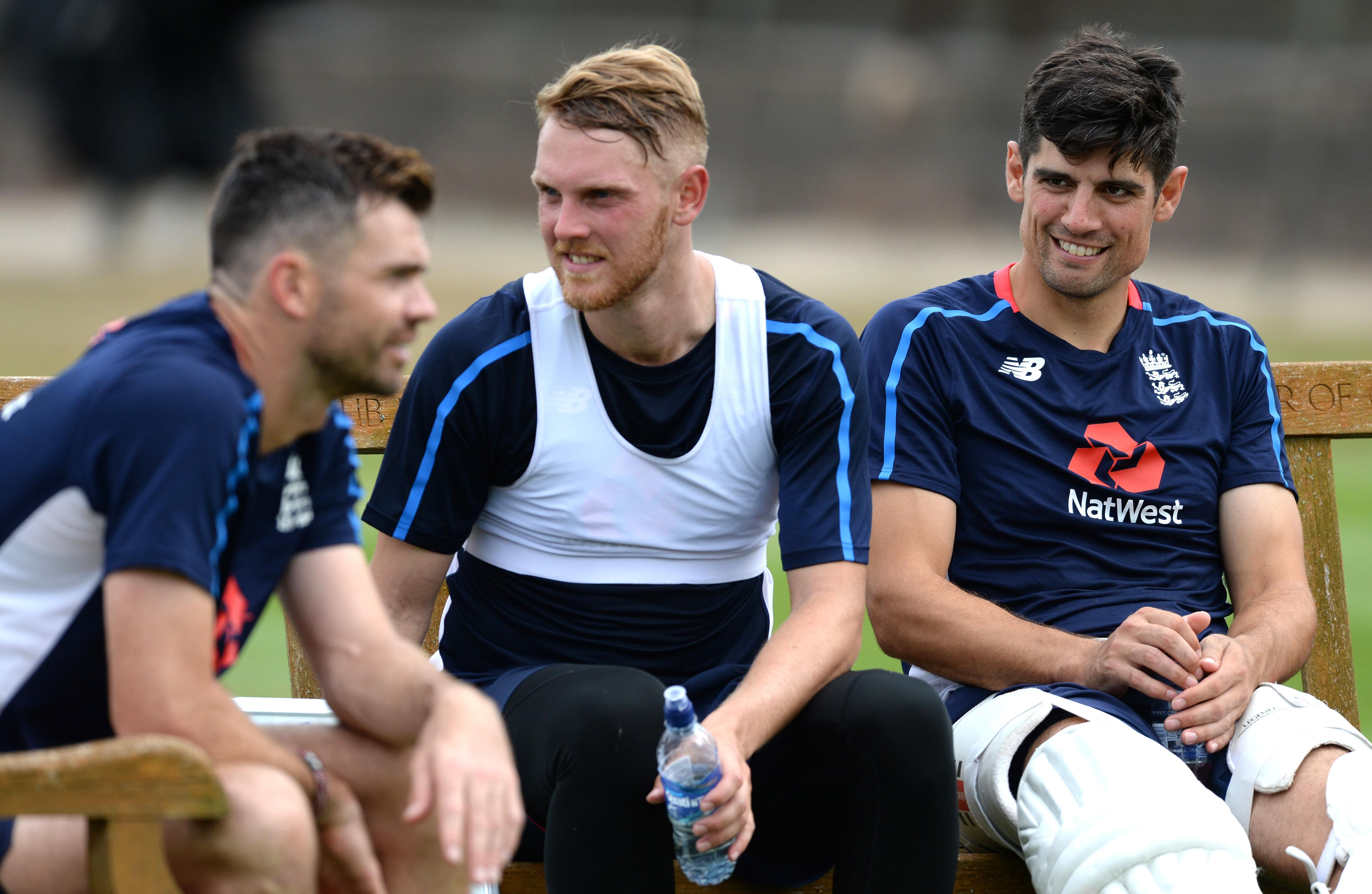 James Anderson will lead the bowling attack against India