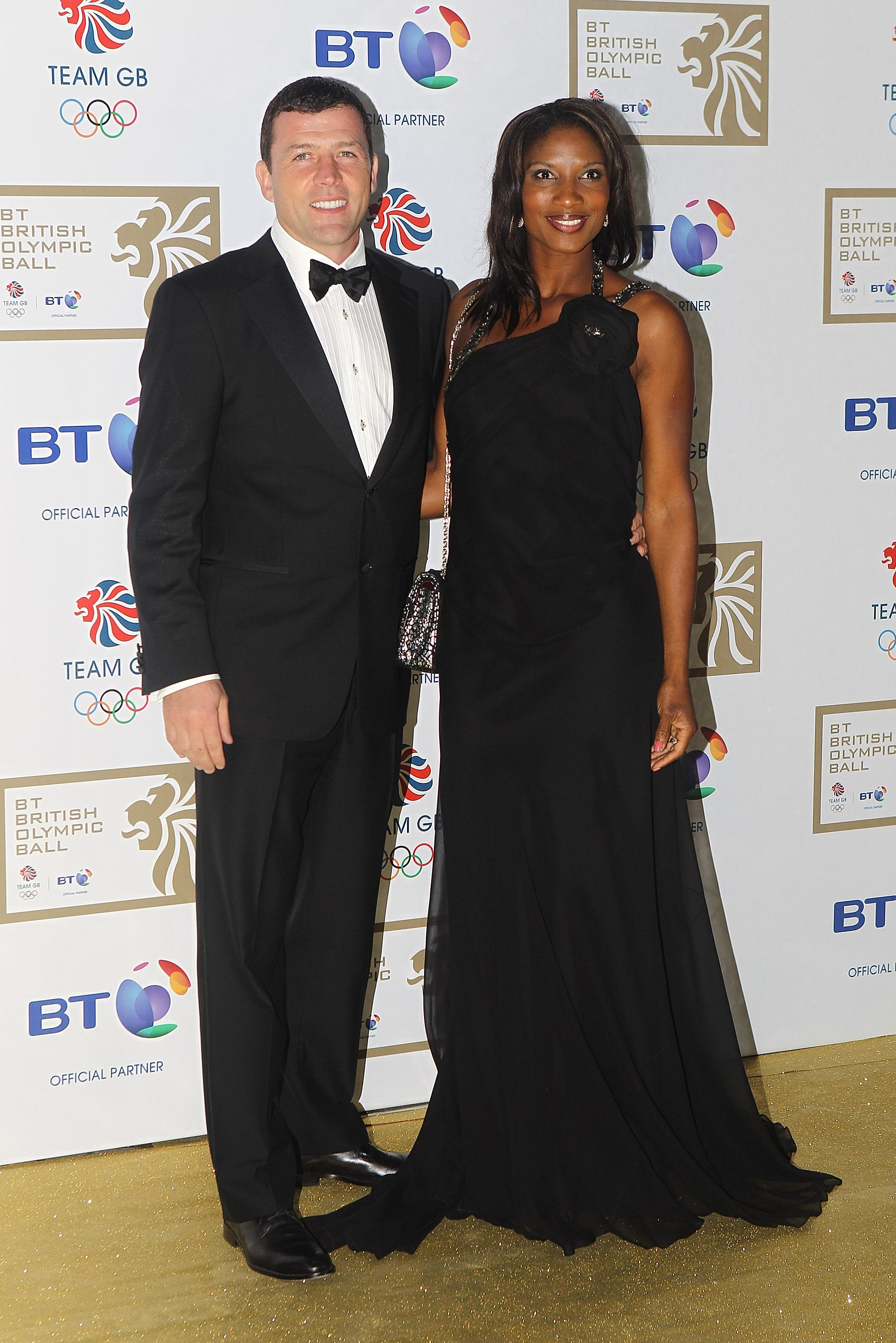 Denise Lewis and husband Steve Finan O'Connor are expecting their fourth child