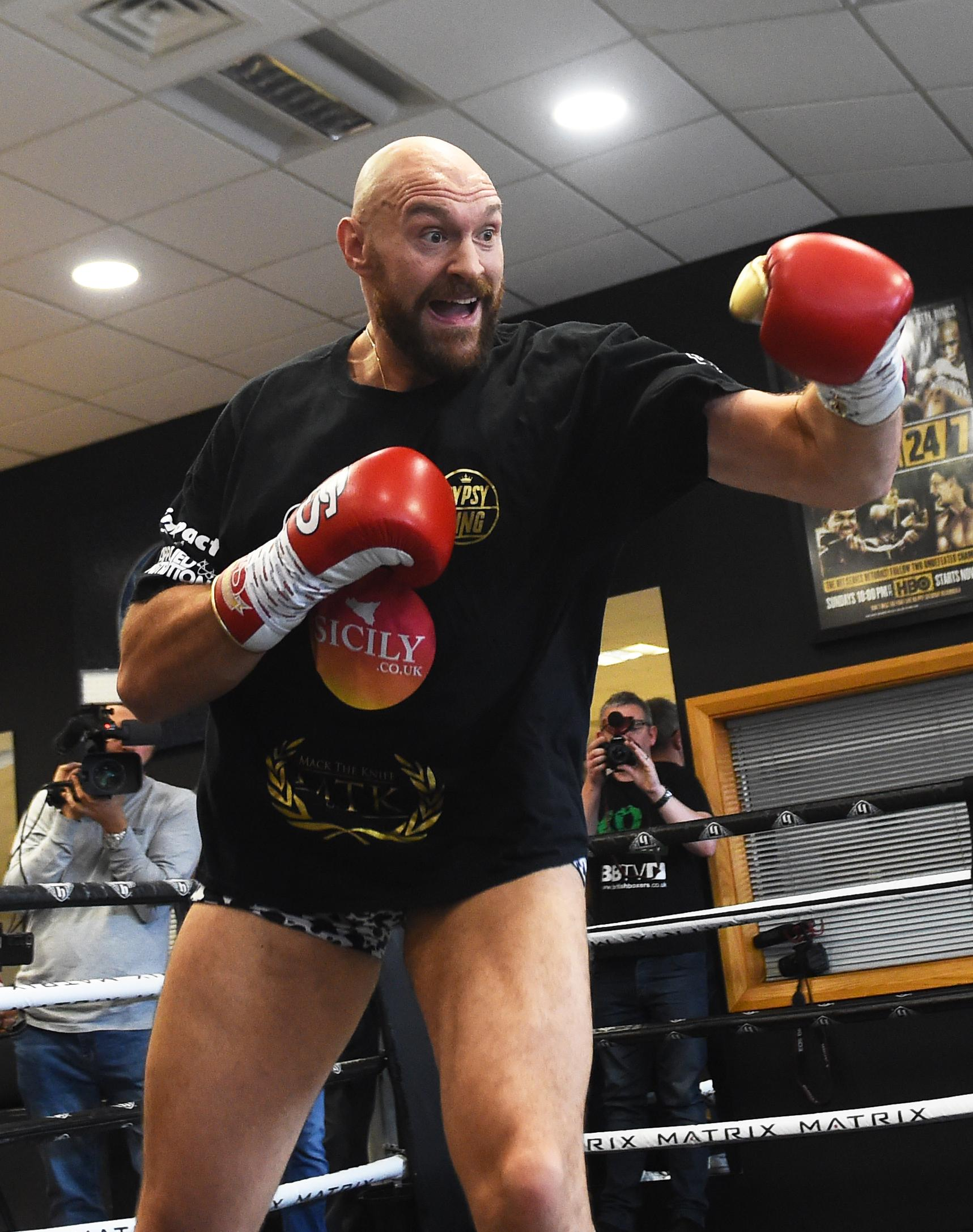 Tyson Fury says he has agreed terms to fight Deontay Wilder in Las Vegas