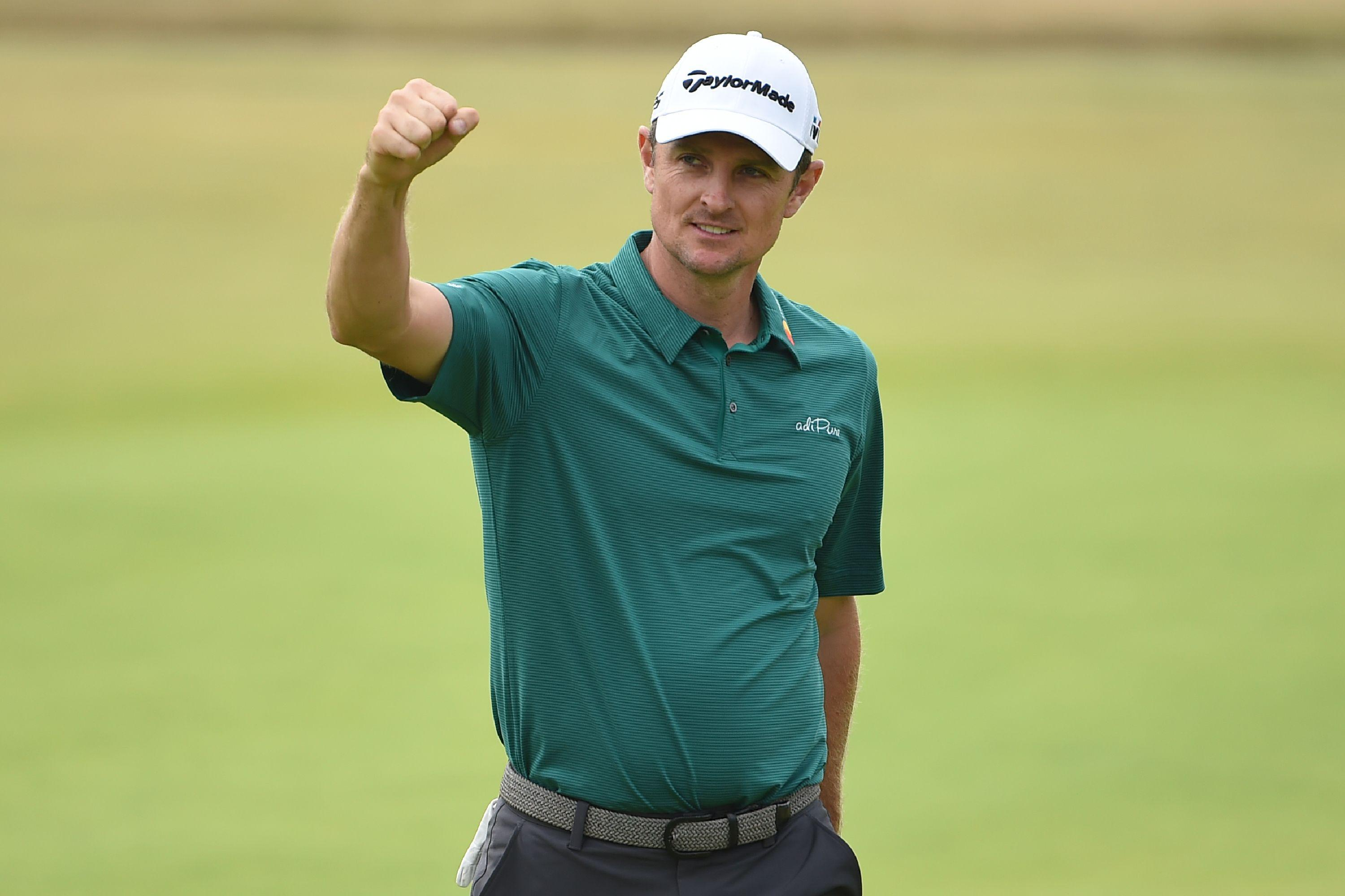 Justin Rose has been using a powerful laser to boost his putting performance