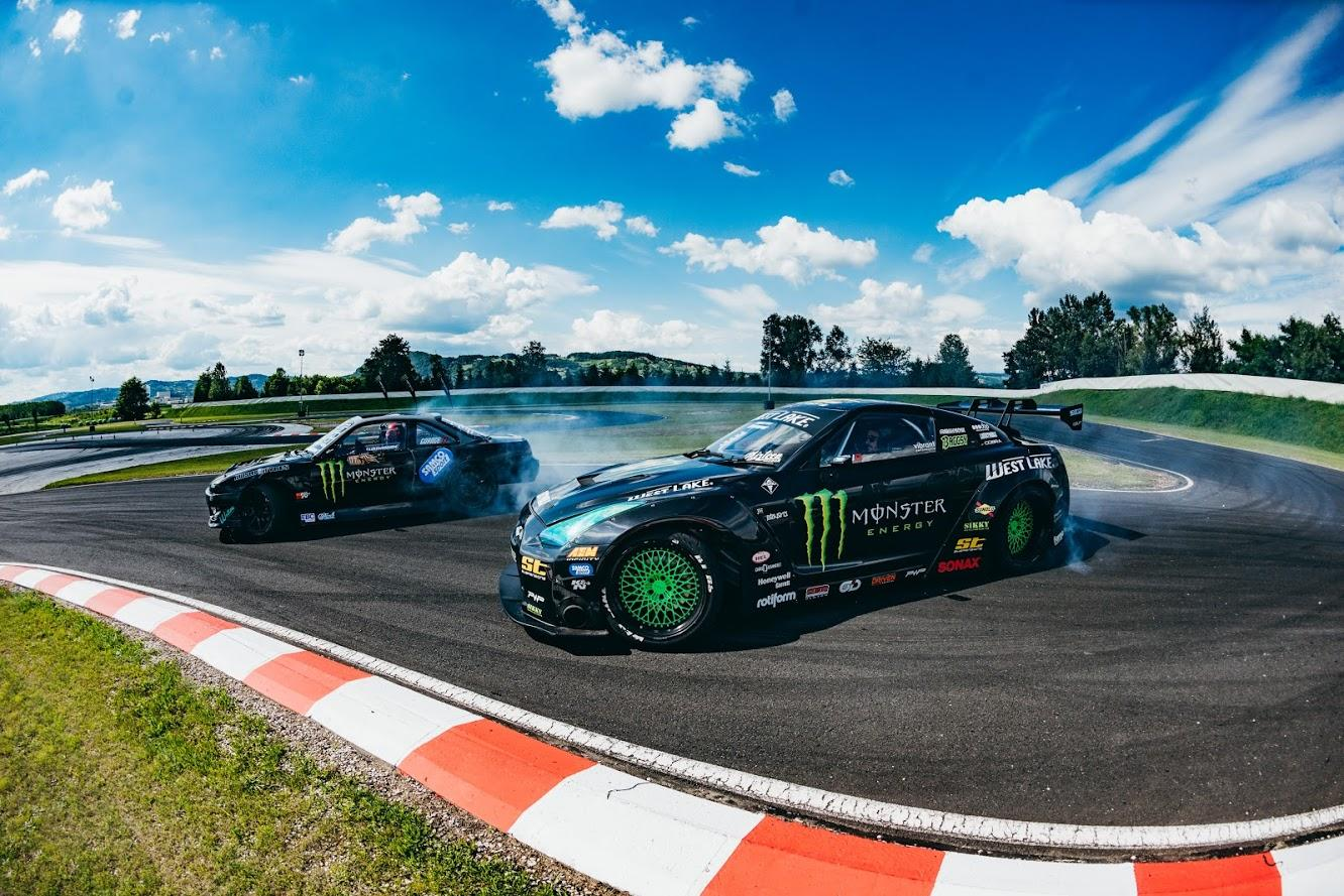 Monster's british drifting duo tour the world with the extreme sport
