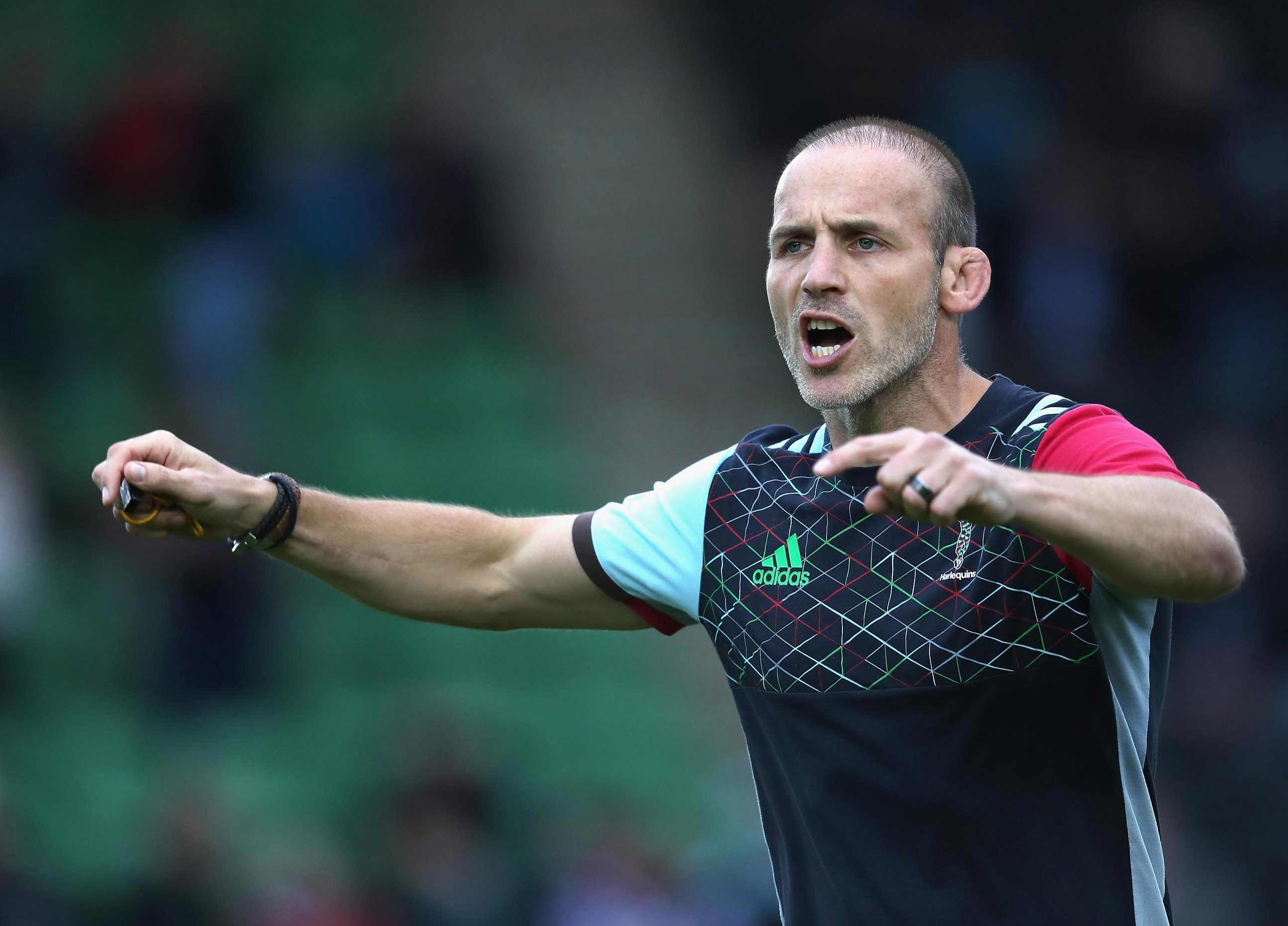 Paul Gustard is the new man at Quins after quitting England