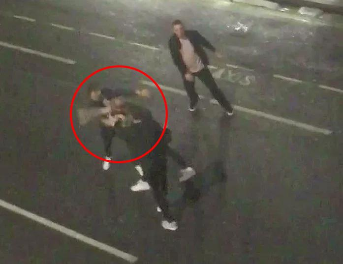 Stokes punched two men during a brawl outside a Bristol nightclub