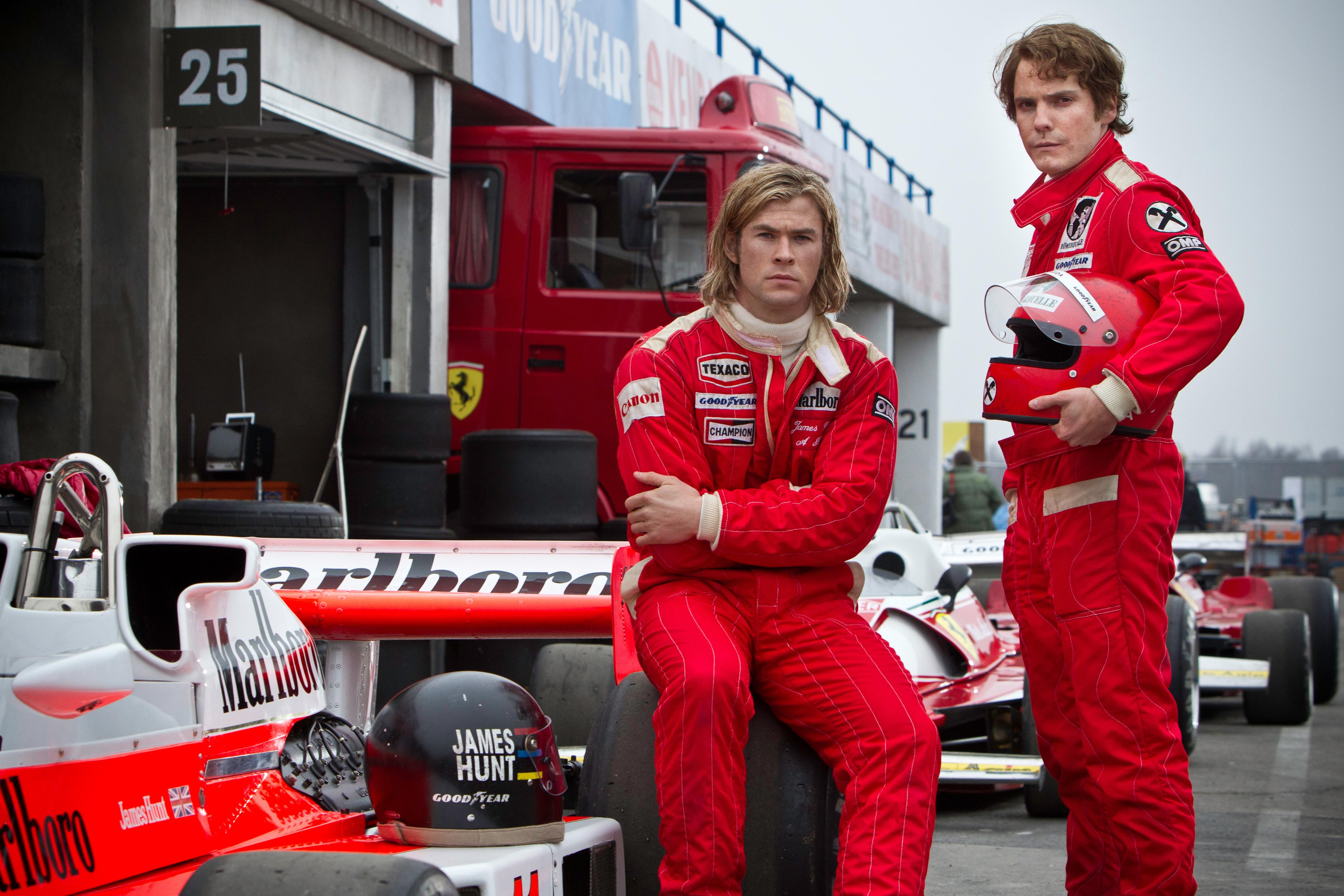 Movie fans will recognise the Lauda and Hunt story from the hit 2013 film 'Rush'