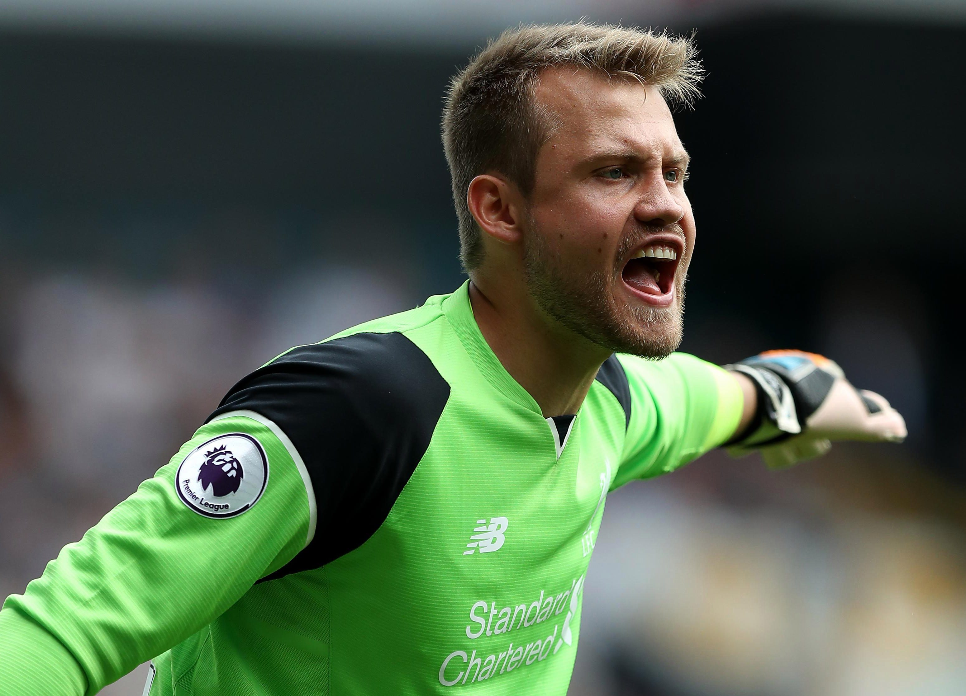 Belgian keeper Simon Mignolet faces being second-choice at best if he stays