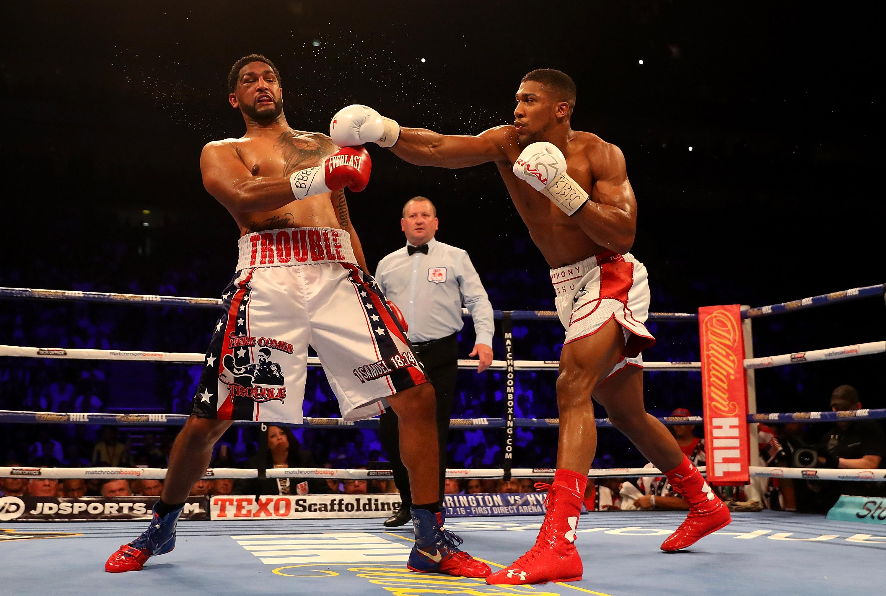 Breazeale's only career defeat was to Anthony Joshua in 2016