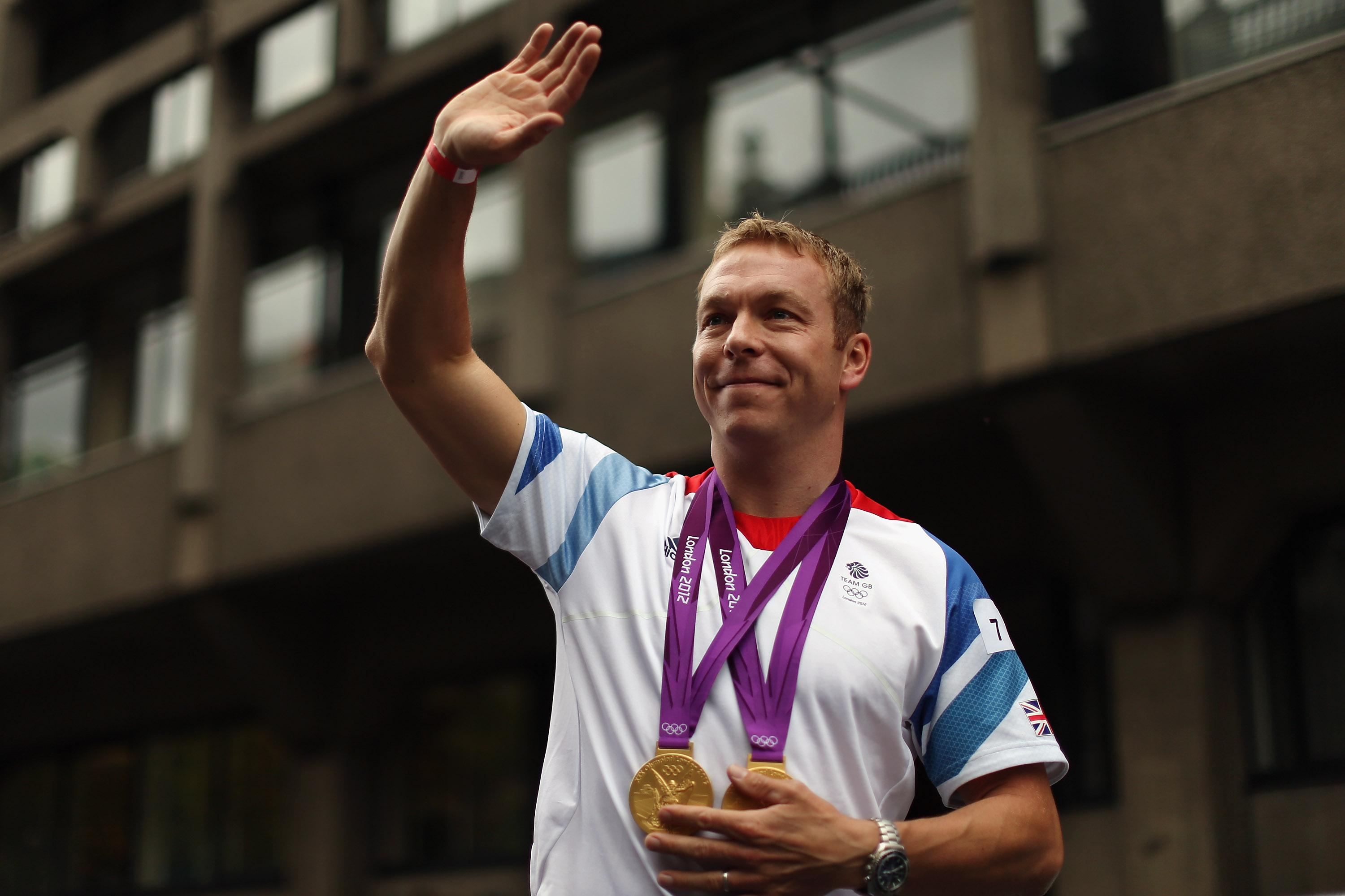 Sir Chris Hoy won seven Olympic medals including two golds in London