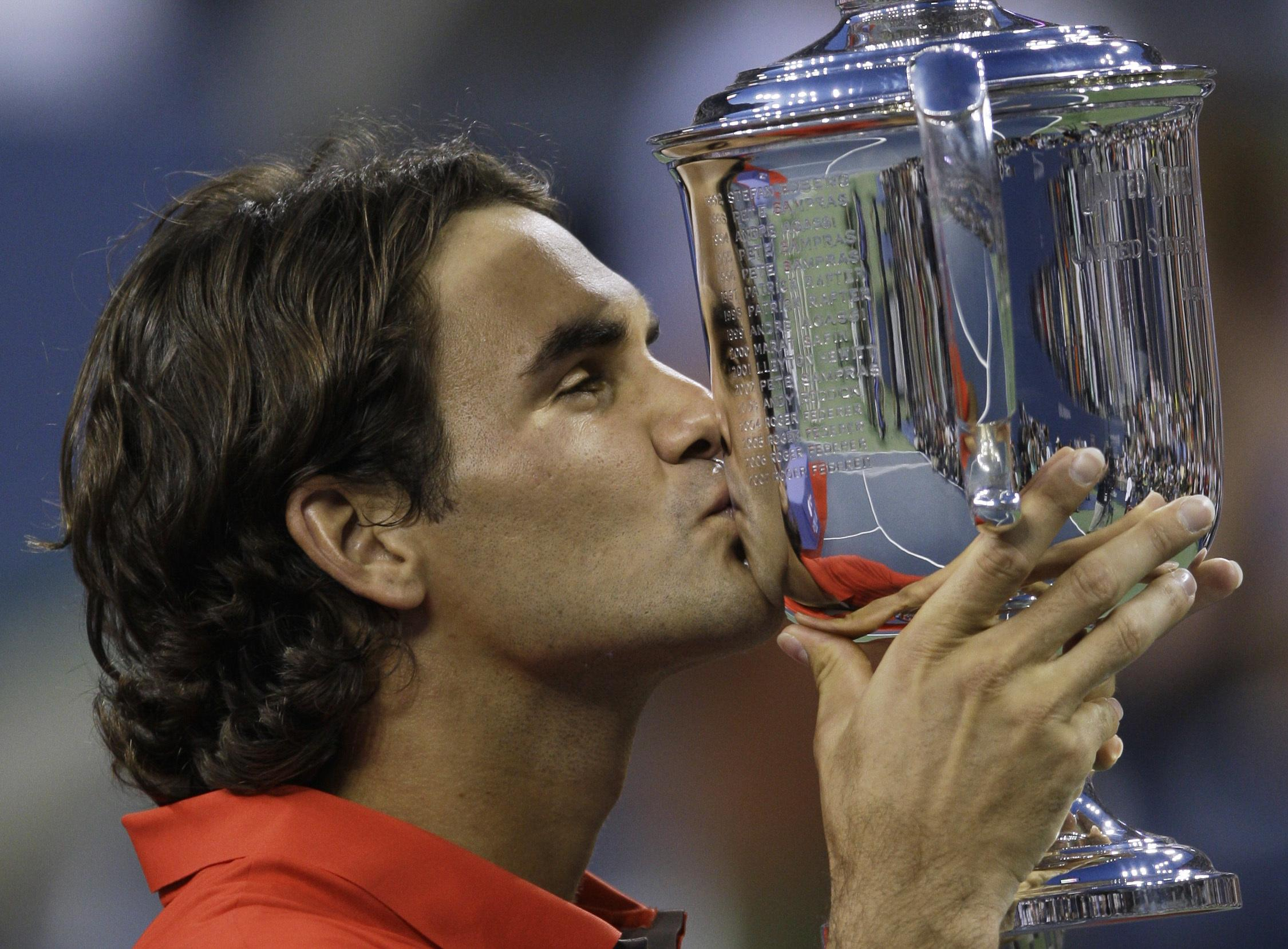 Federer last won the US Open in 2008, a decade ago