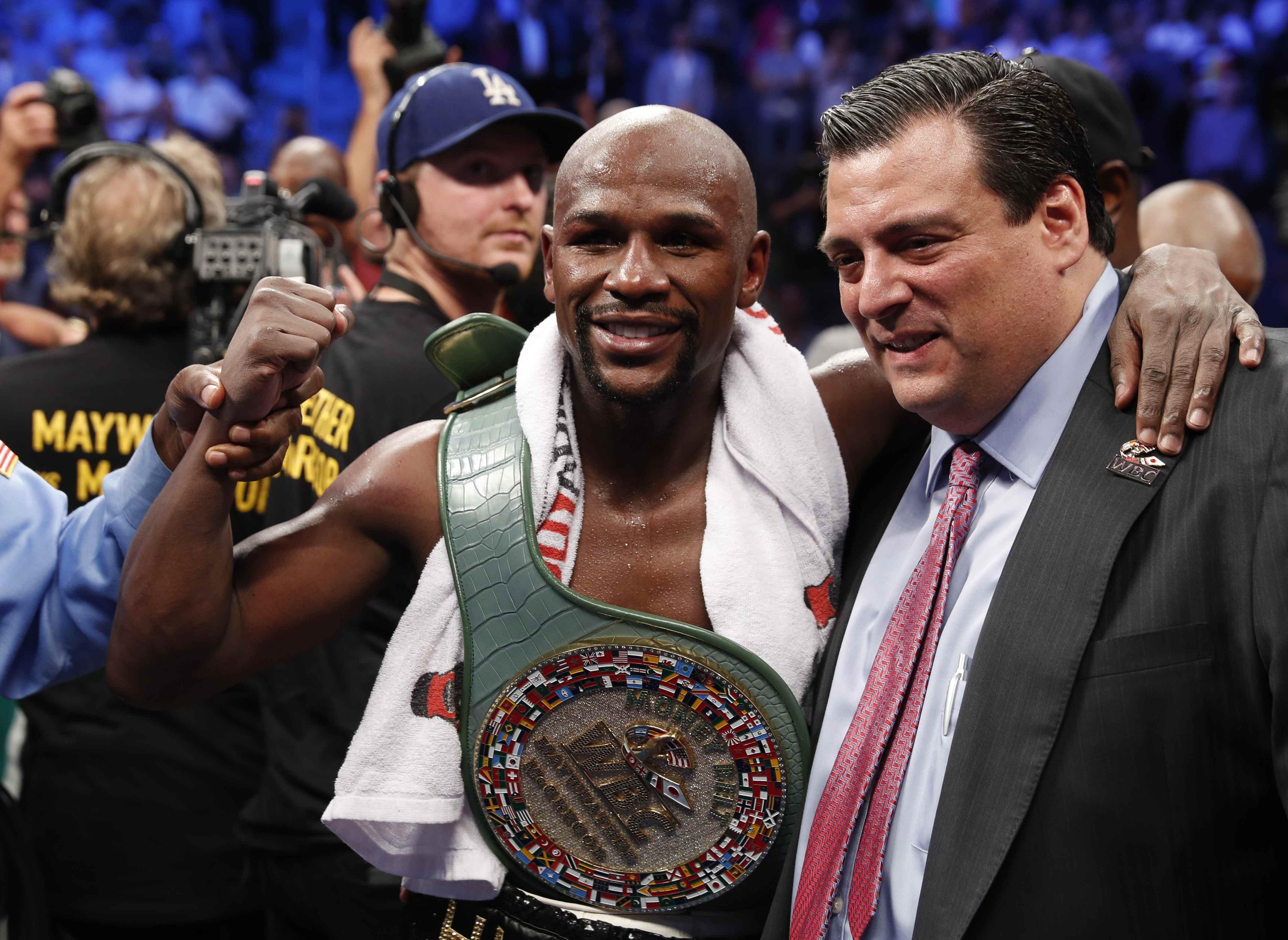 Floyd Mayweather retired from boxing with a magnificent unbeaten record on 50-0