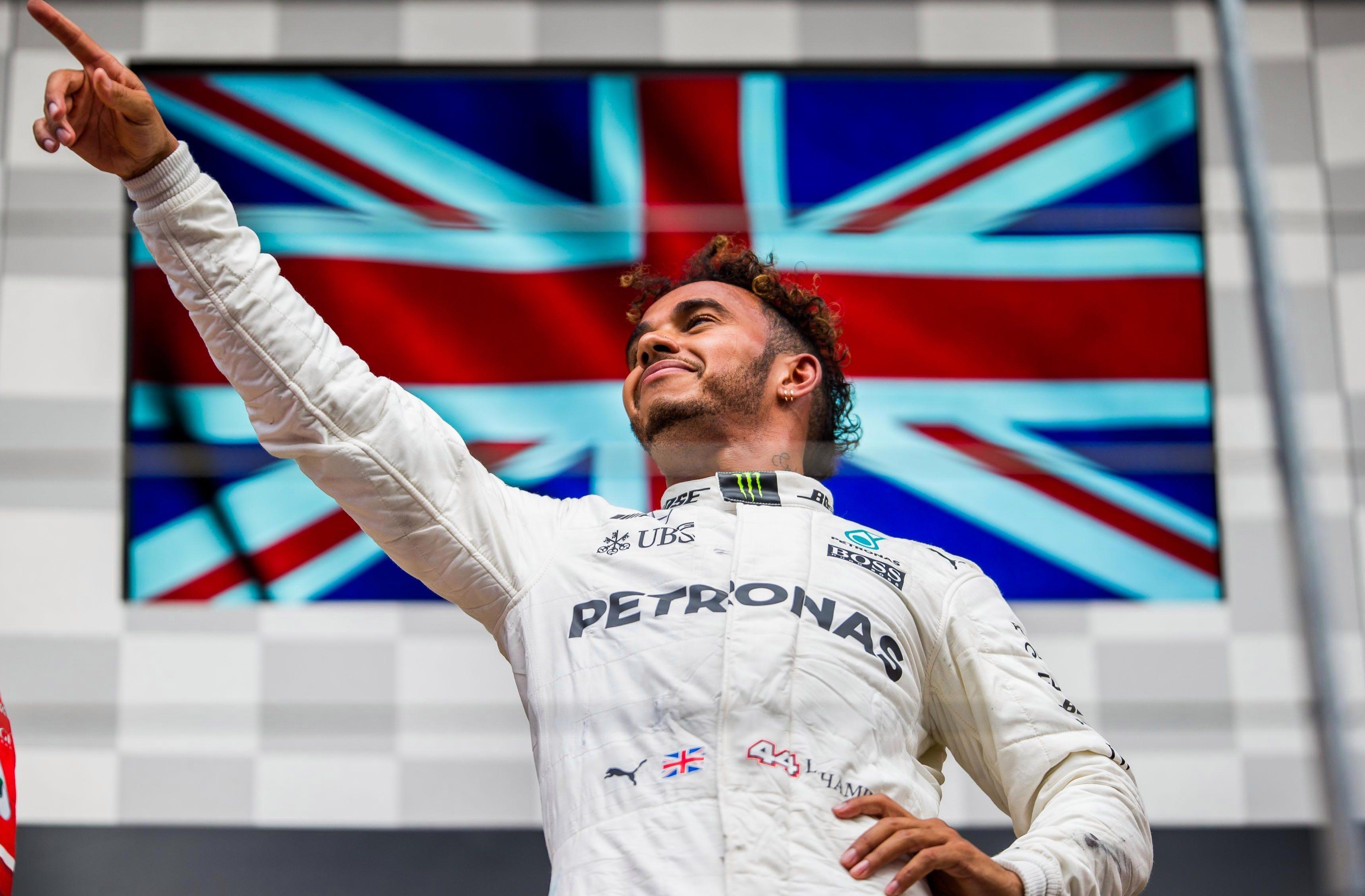 Lewis Hamilton beat Sebastian Vettel at the Belgian Grand Prix last year